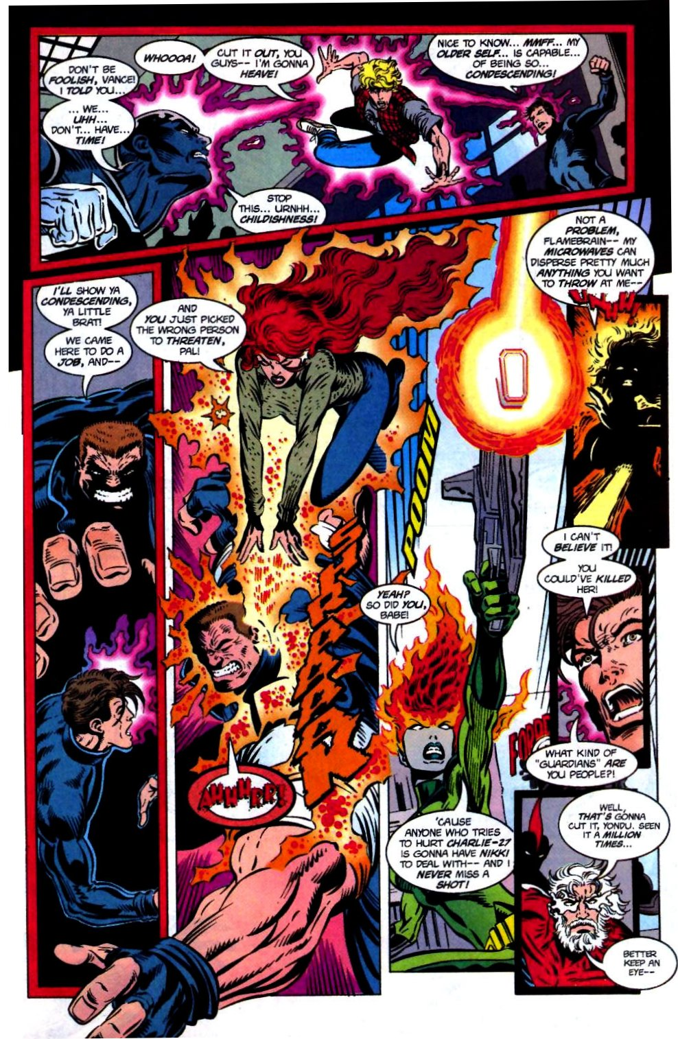 The New Warriors Issue #68 #72 - English 15