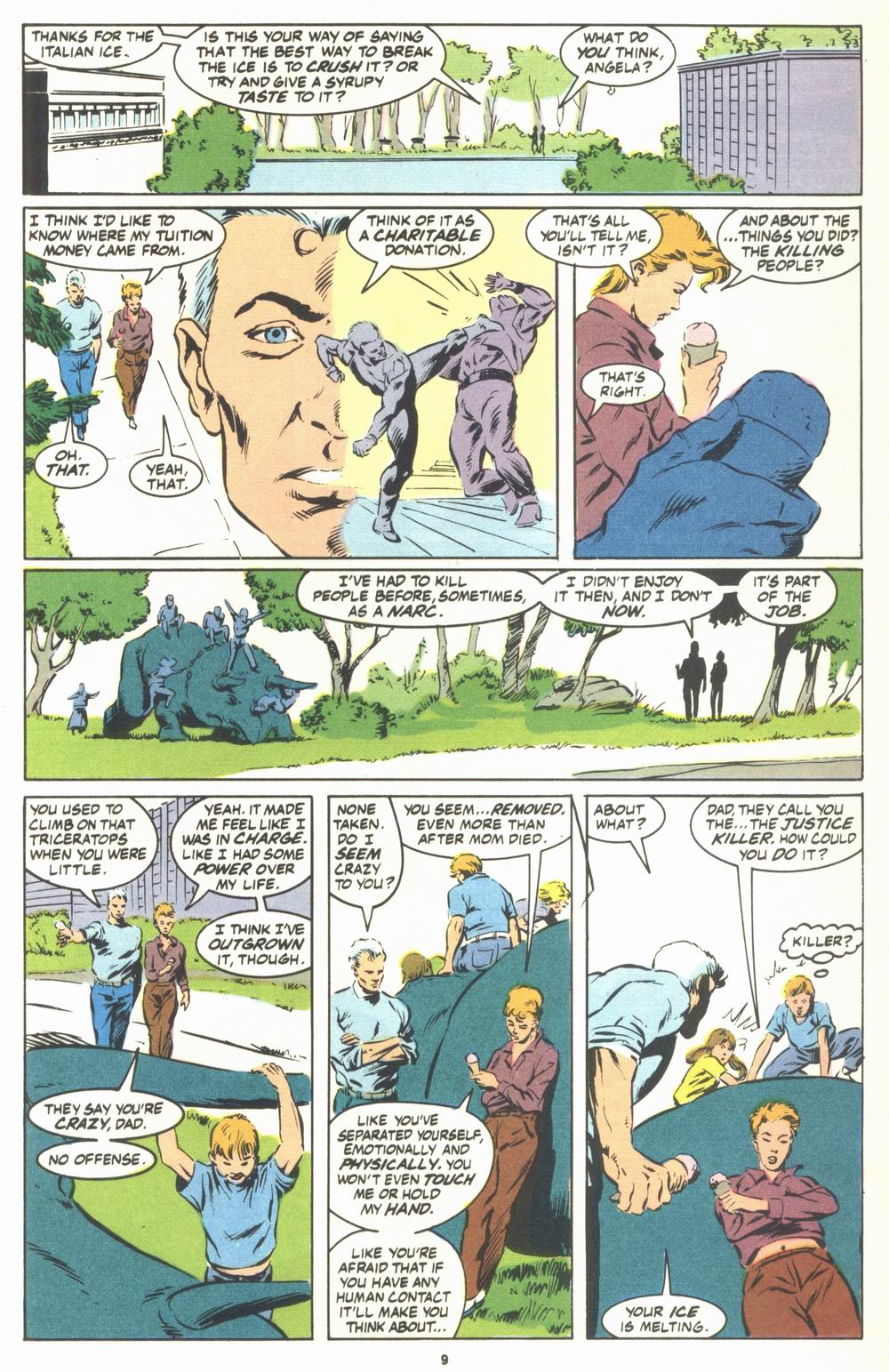 Read online Justice (1986) comic -  Issue #23 - 11