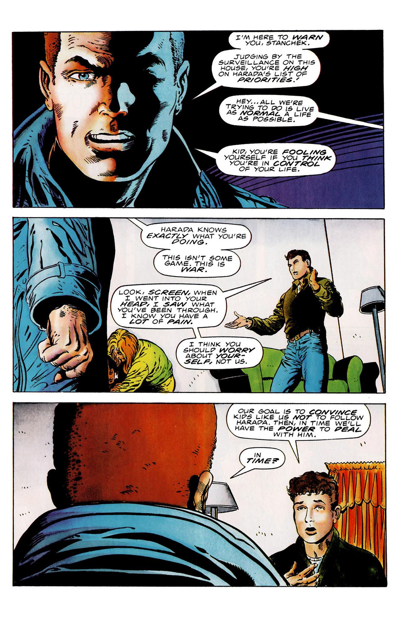 Read online Harbinger (1992) comic -  Issue #18 - 18