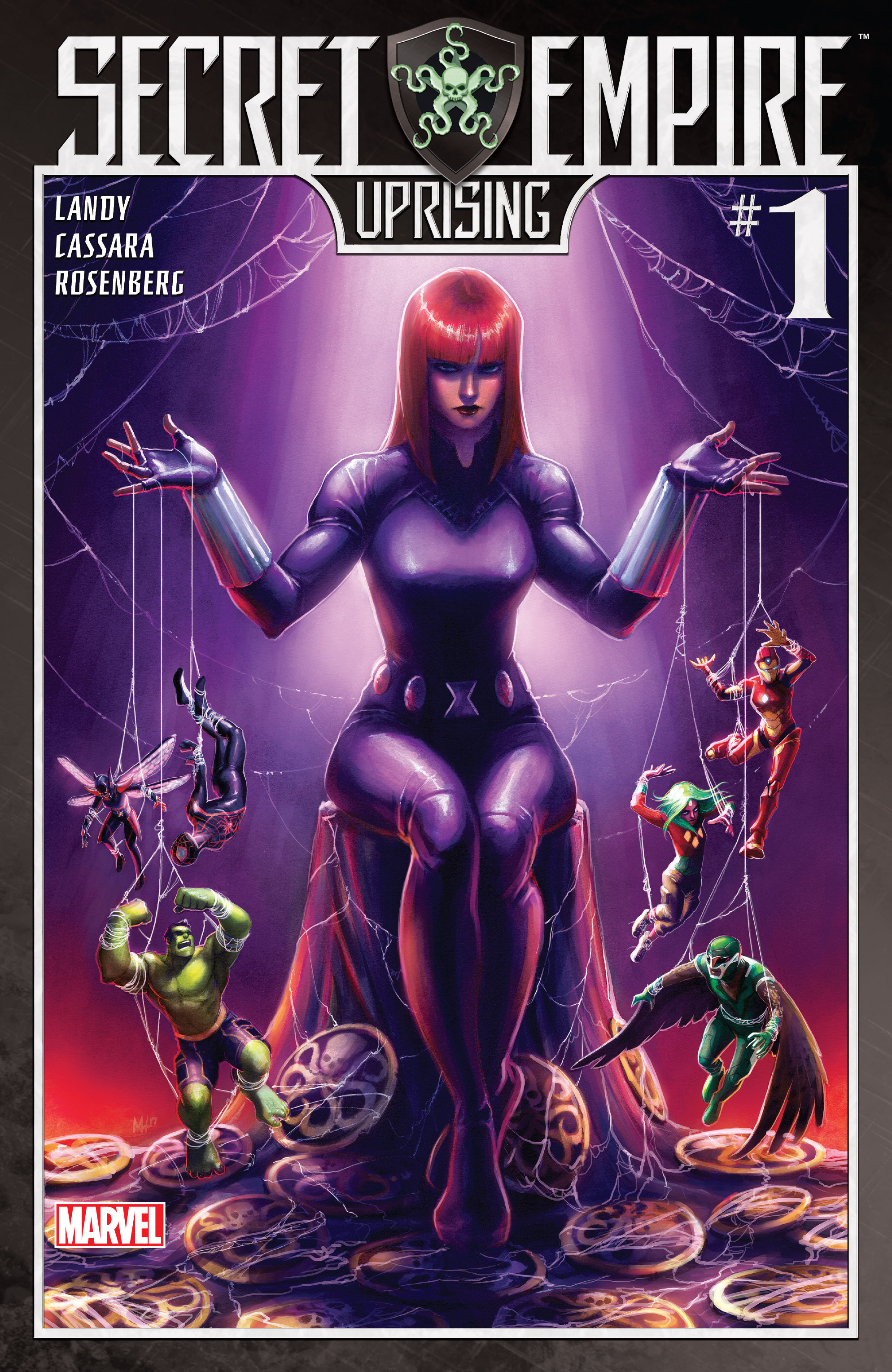 Read online Secret Empire: Uprising comic -  Issue # Full - 1