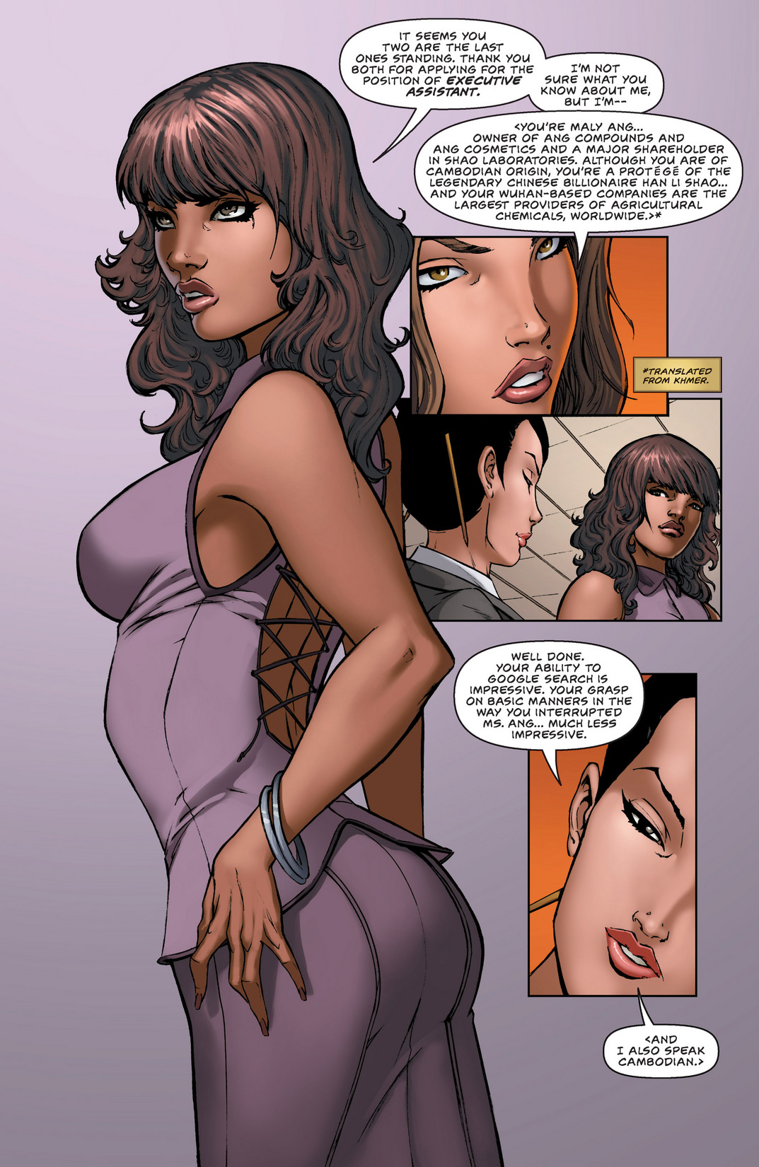 Read online All New Executive Assistant: Iris comic -  Issue #1 - 9