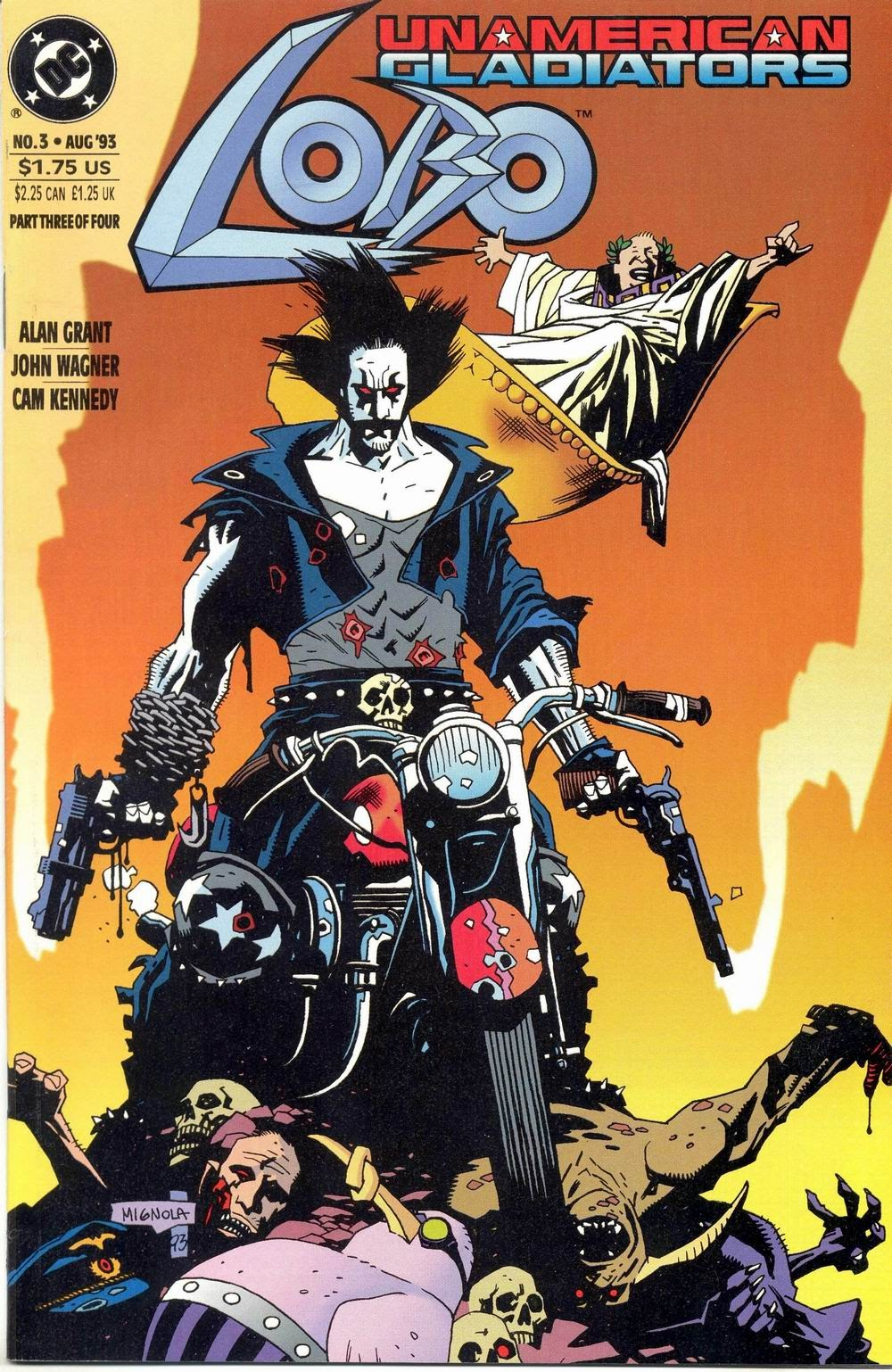 Lobo: Unamerican Gladiators 3 Page 1