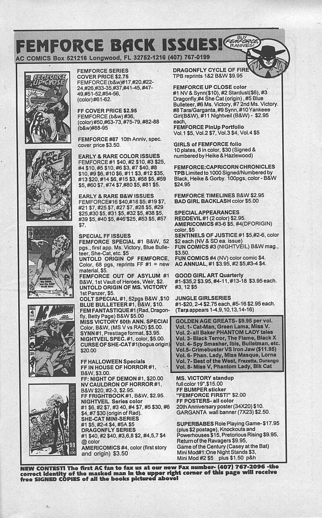 Femforce Issue #94 #94 - English 31