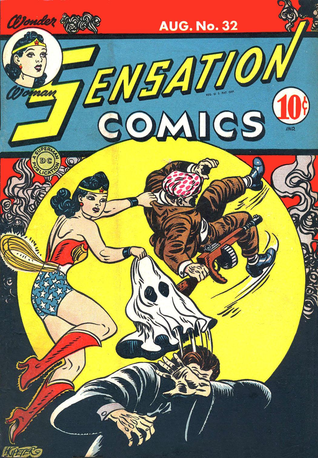 Sensation (Mystery) Comics 32 Page 1
