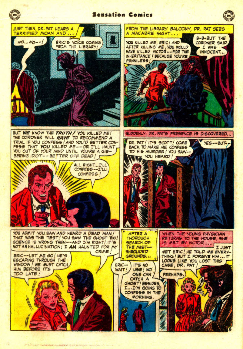 Read online Sensation (Mystery) Comics comic -  Issue #99 - 24