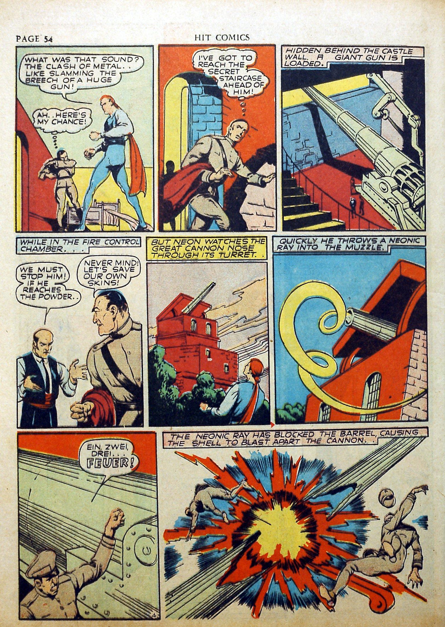 Read online Hit Comics comic -  Issue #17 - 56