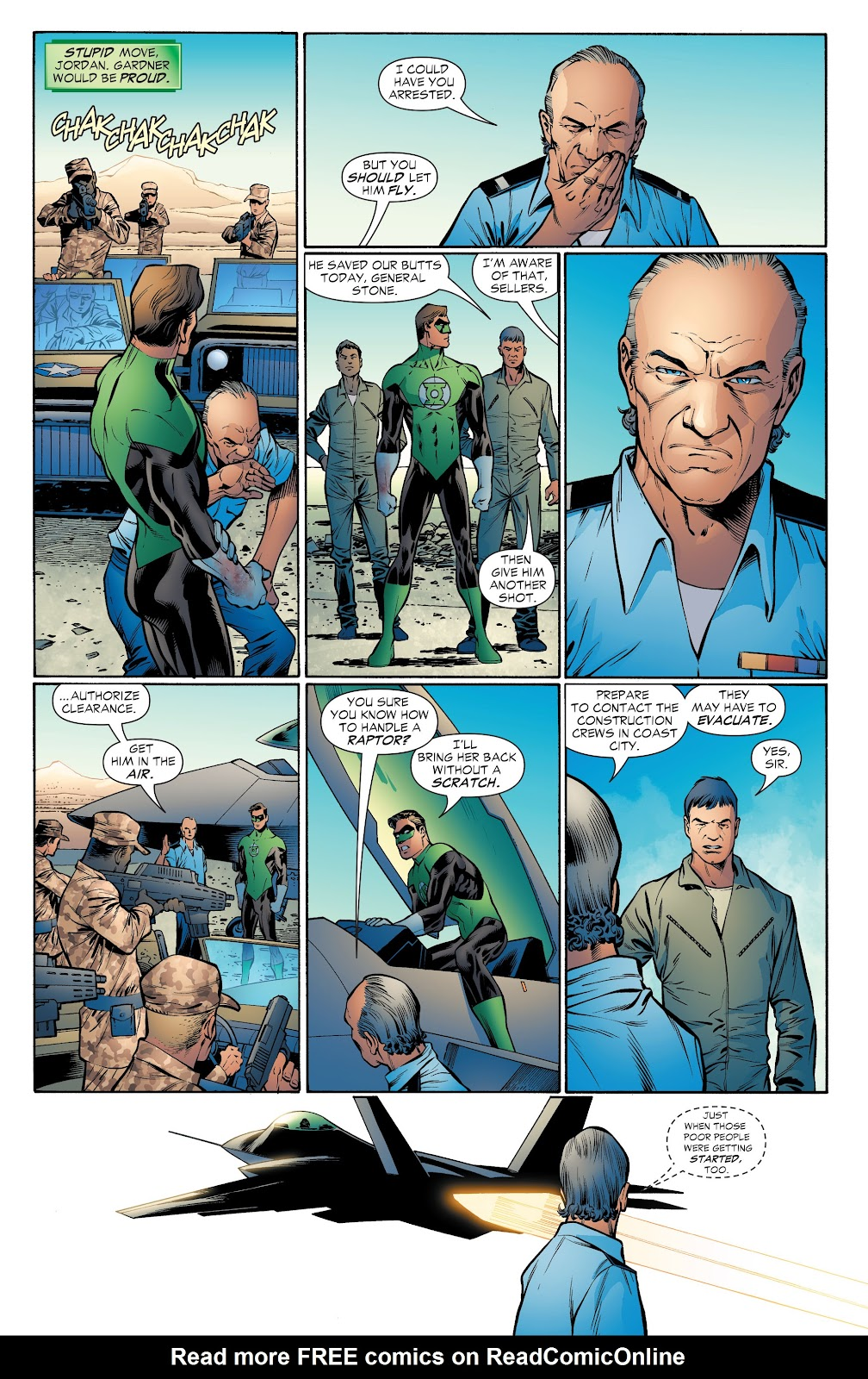Read online Green Lantern by Geoff Johns comic -  Issue # TPB 1 (Part 4) - 53