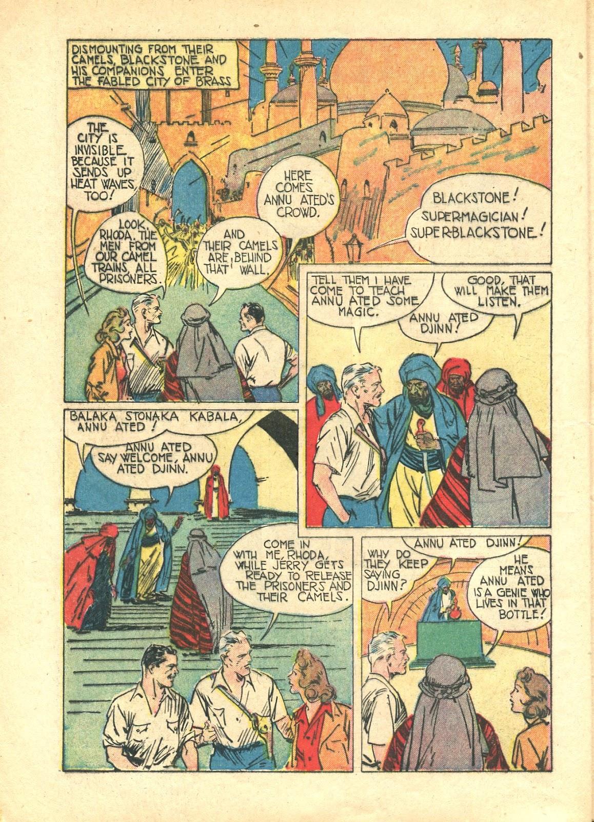 Read online Super-Magician Comics comic -  Issue #21 - 12