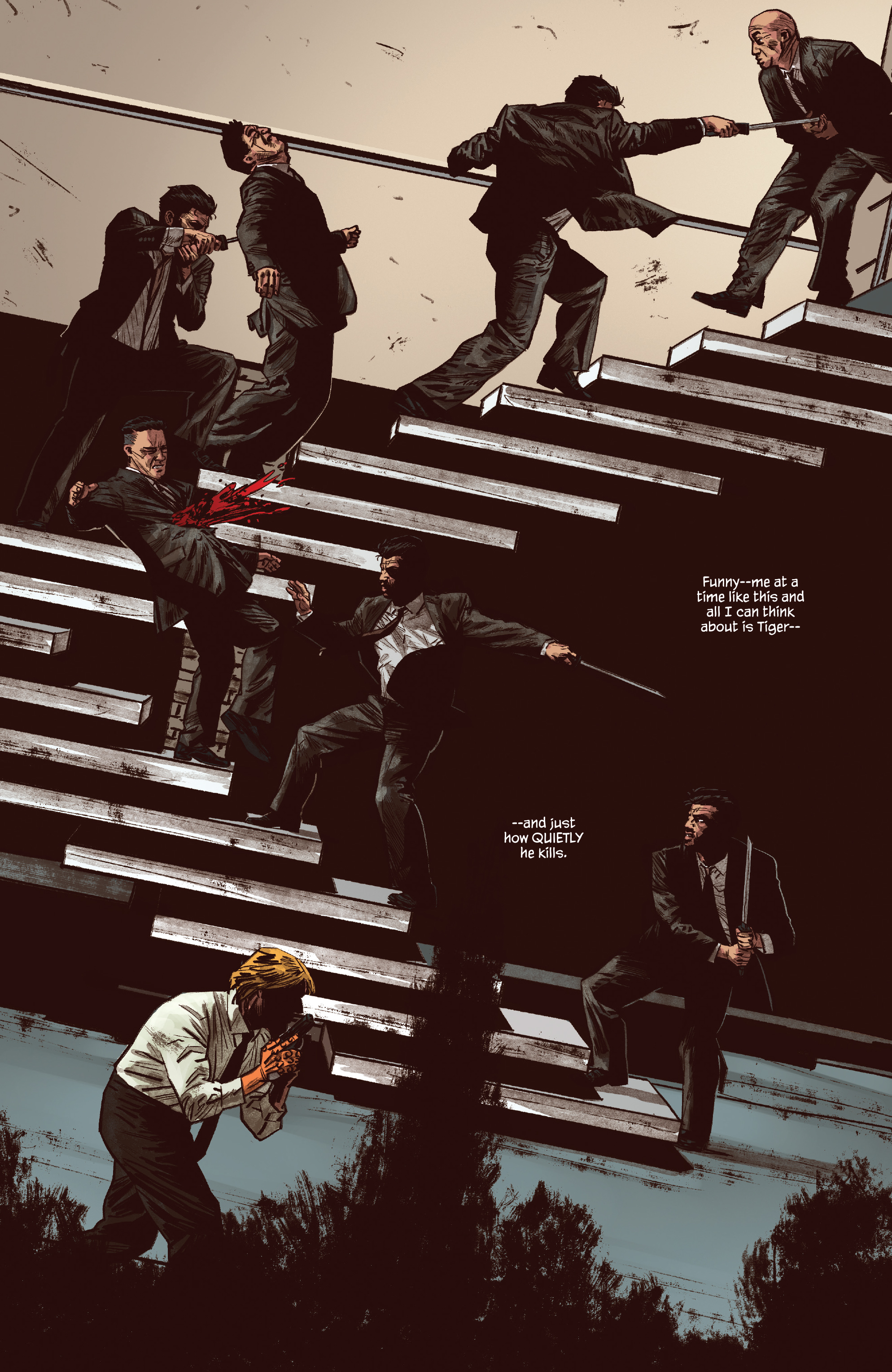 Read online James Bond: Felix Leiter comic -  Issue #5 - 5