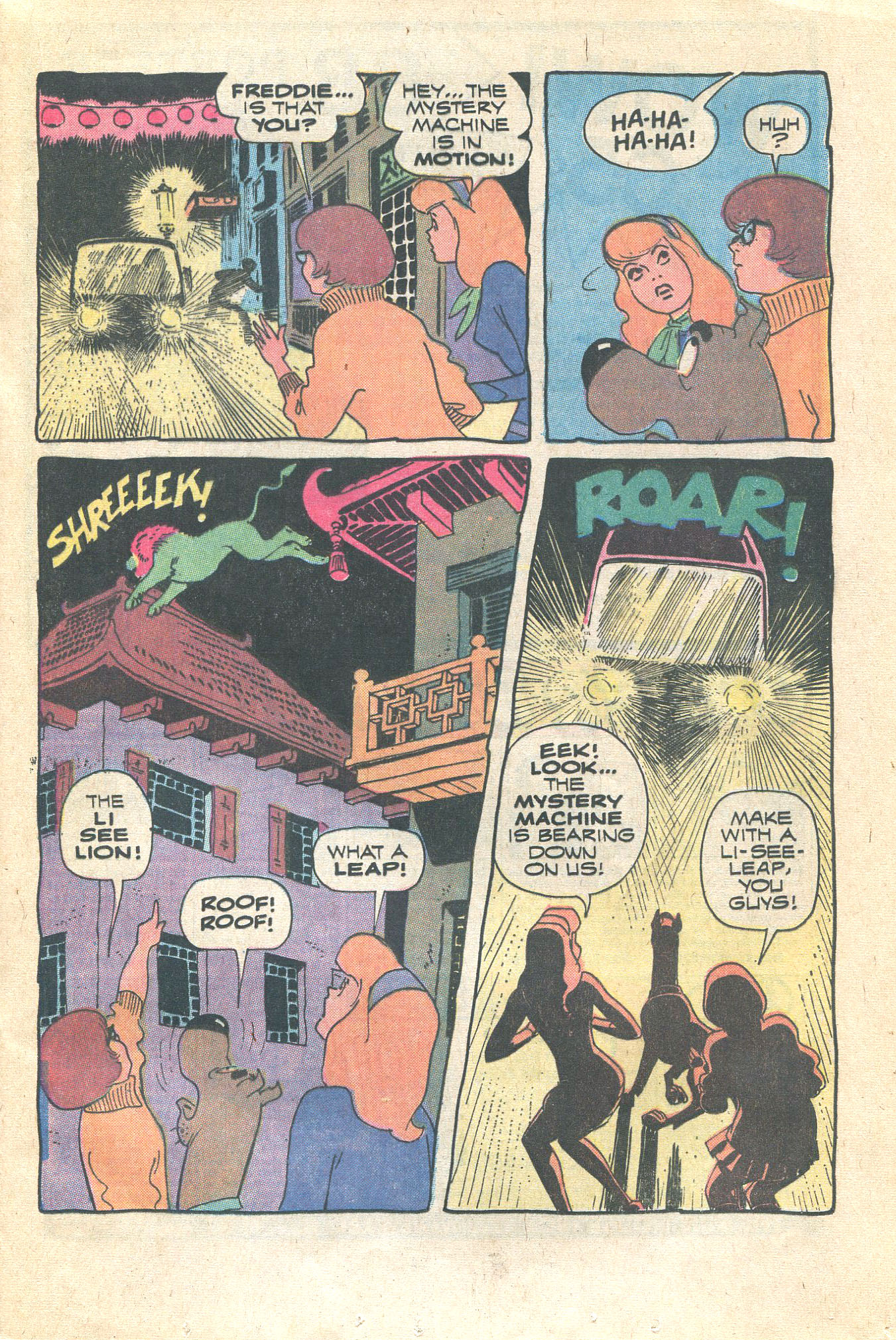 Read online Scooby-Doo... Where Are You! (1970) comic -  Issue #16 - 17