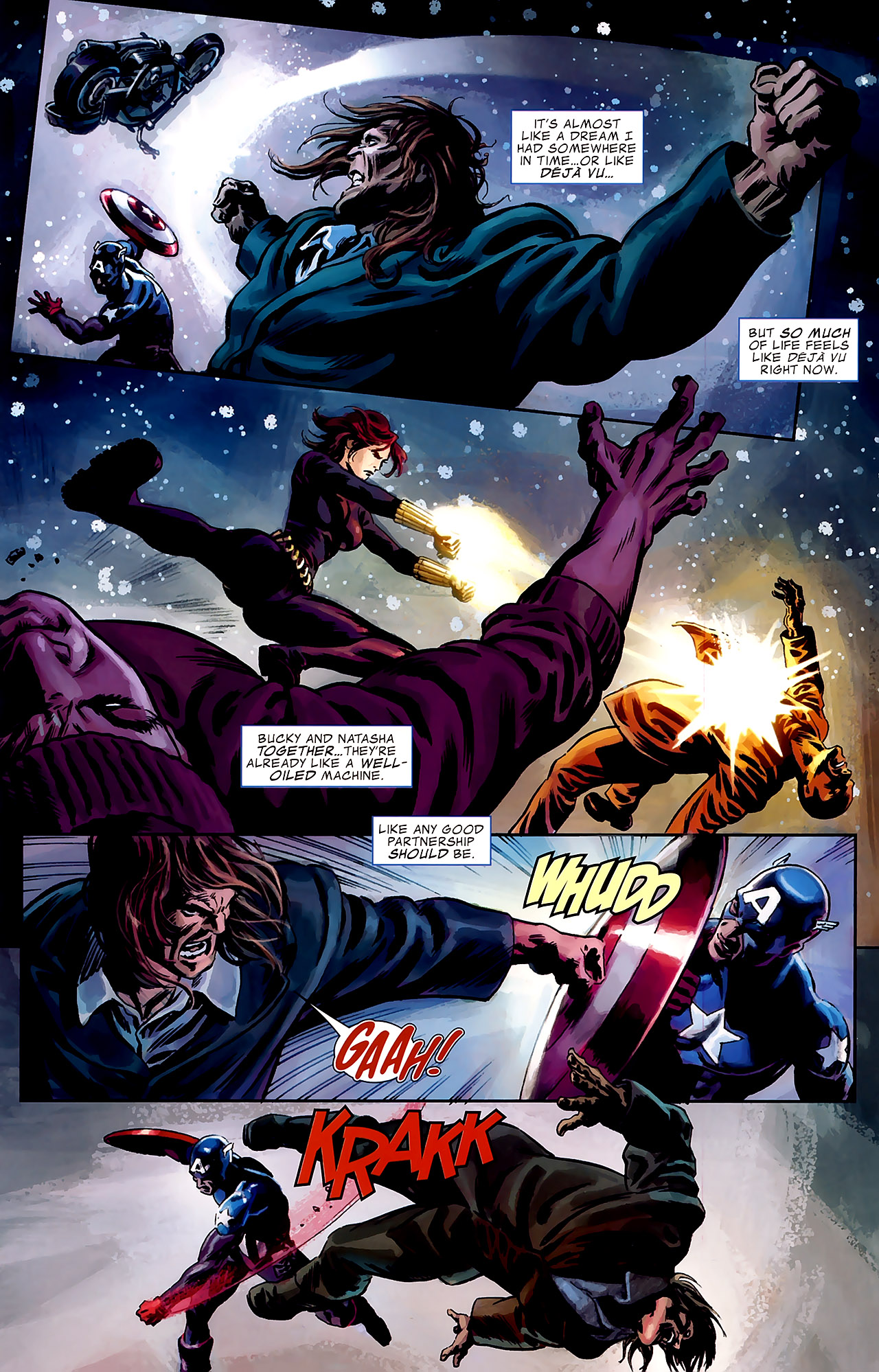 Read online Captain America Reborn: Who Will Wield the Shield? comic -  Issue # Full - 17