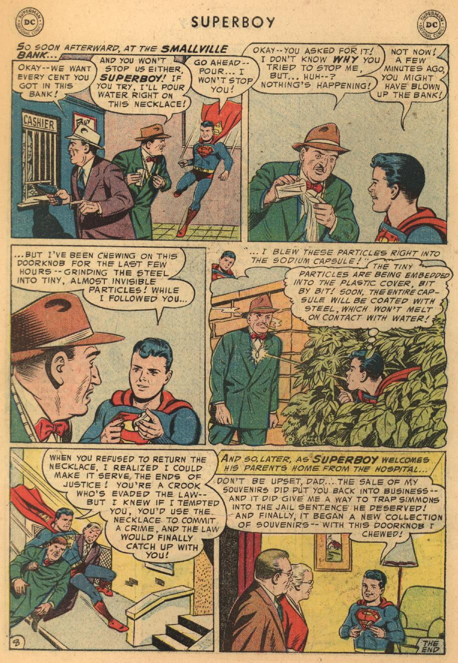 Superboy (1949) issue 45 - Page 9