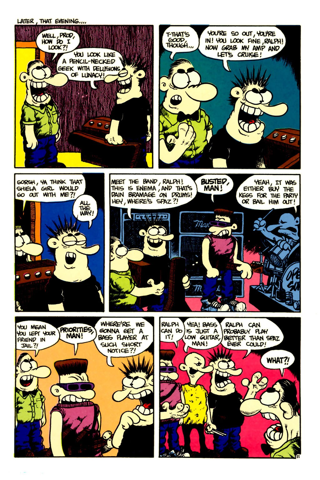 Ralph Snart Adventures (1988) issue 6 - Page 12