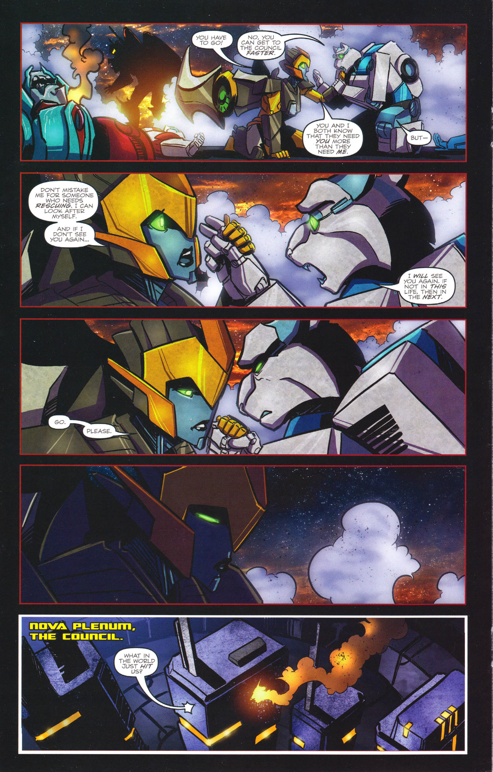 Read online Transformers: Dawn of the Predacus comic -  Issue # Full - 15