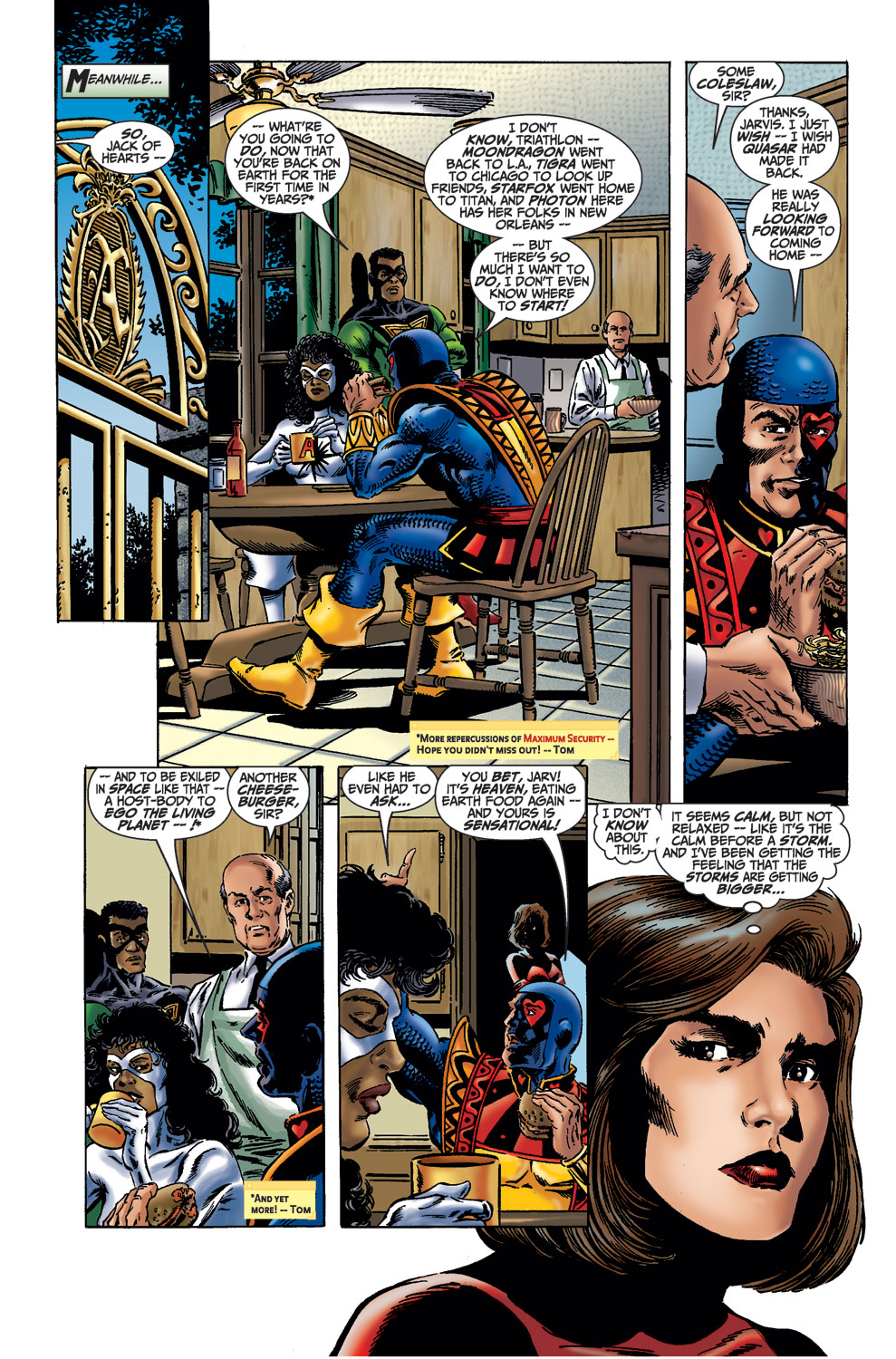 Read online Avengers (1998) comic -  Issue #36 - 6