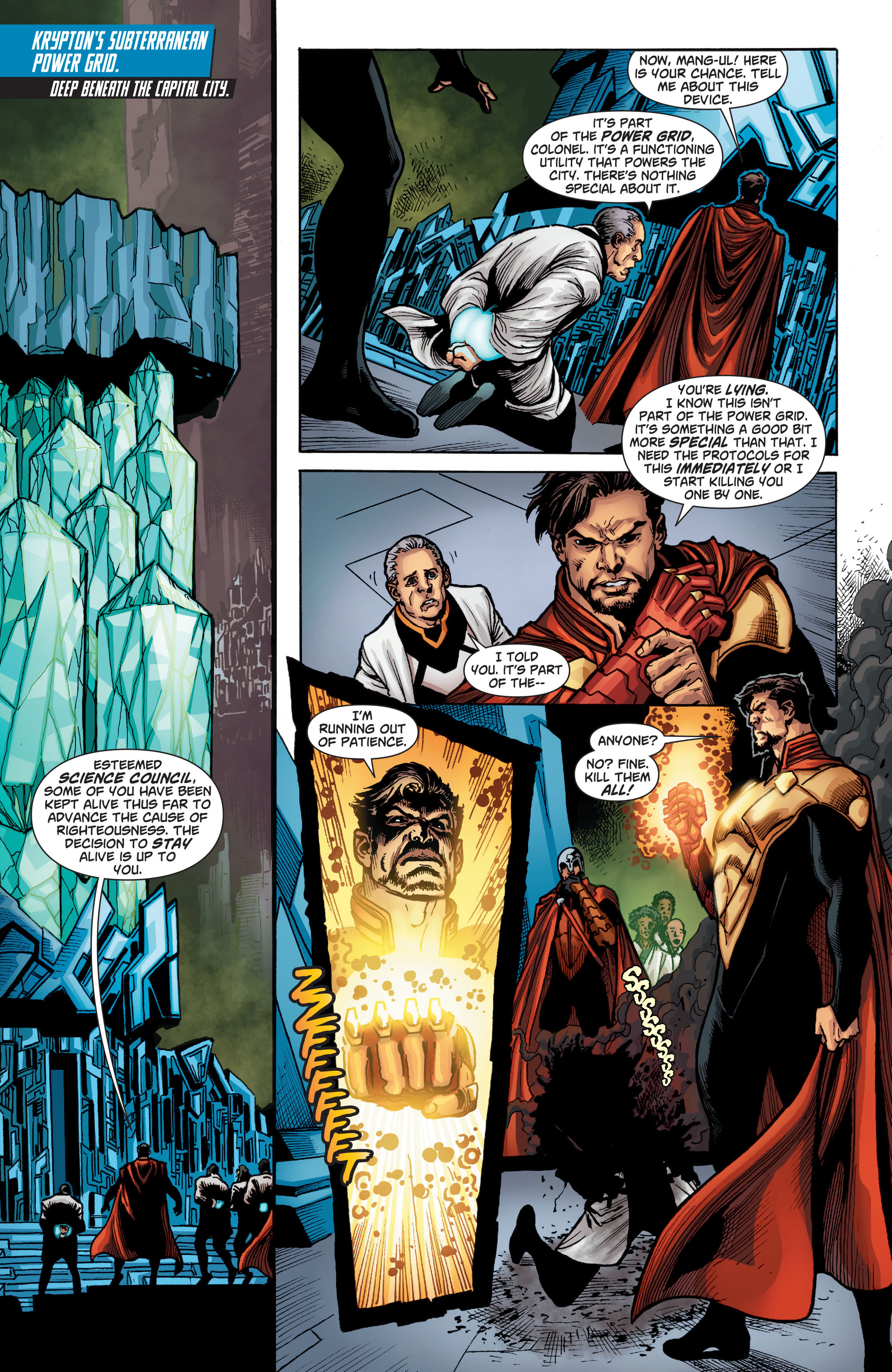 Read online Action Comics (2011) comic -  Issue #22 - 21