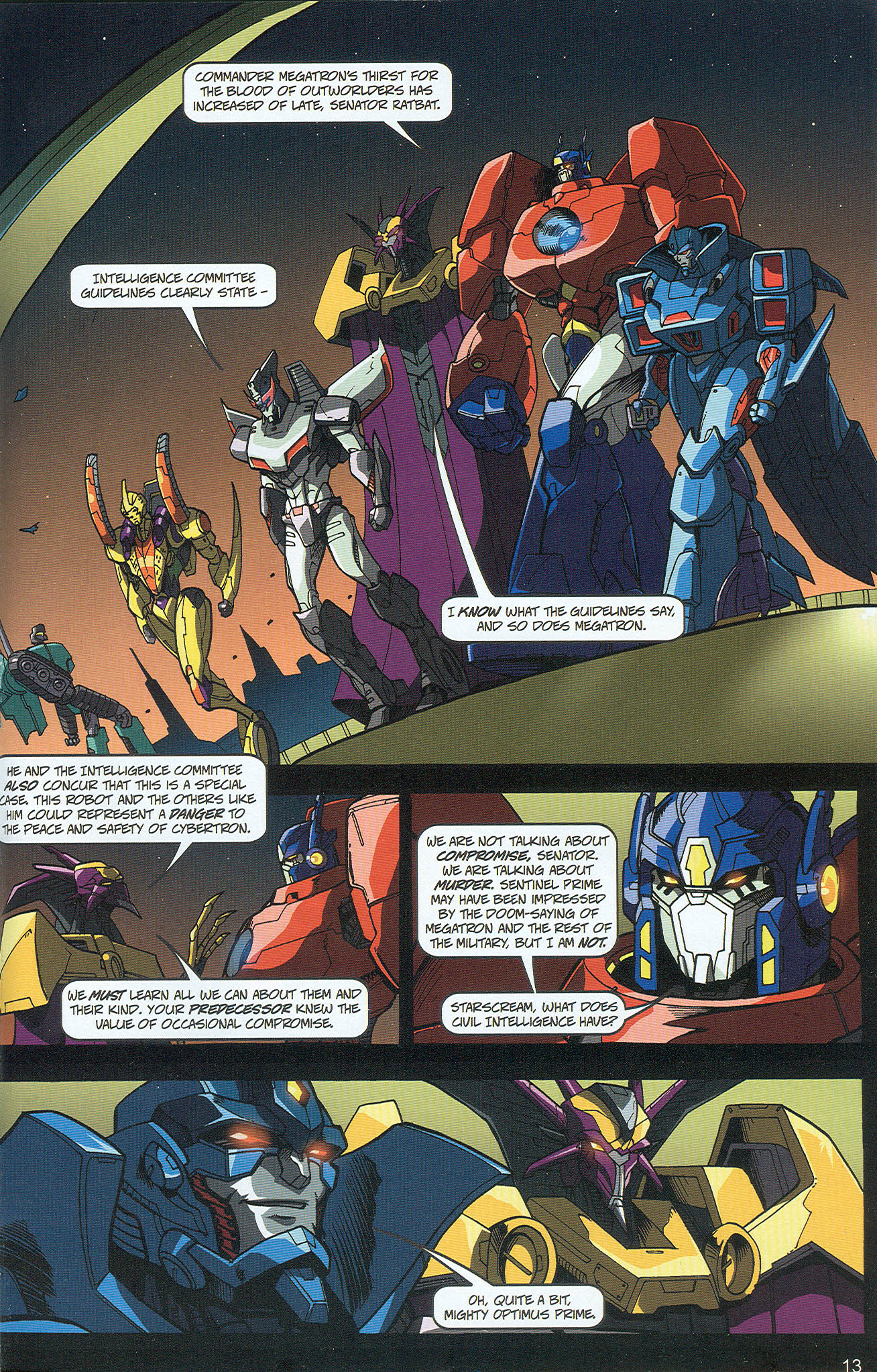 Read online Transformers: Collectors' Club comic -  Issue #22 - 13