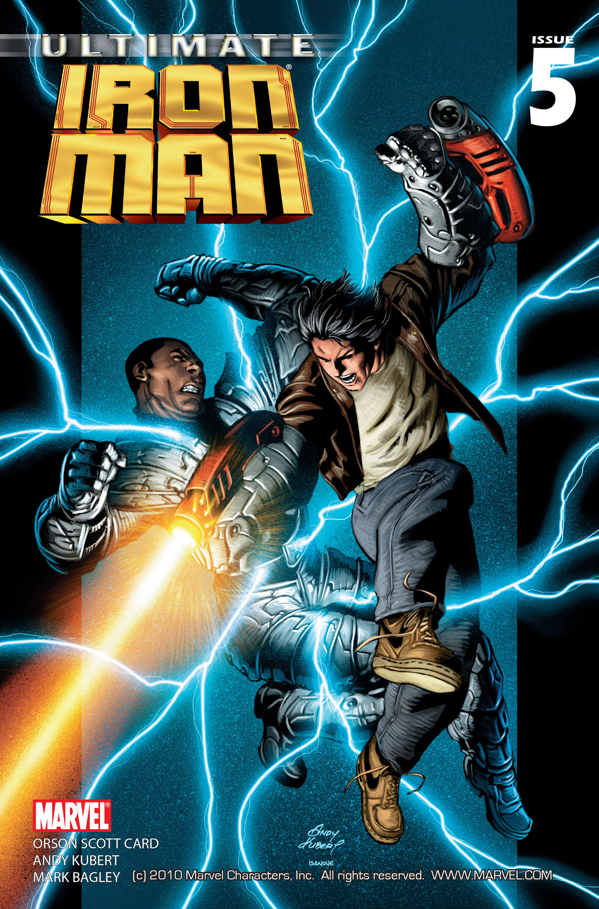 Read online Ultimate Iron Man (2005) comic -  Issue #5 - 1