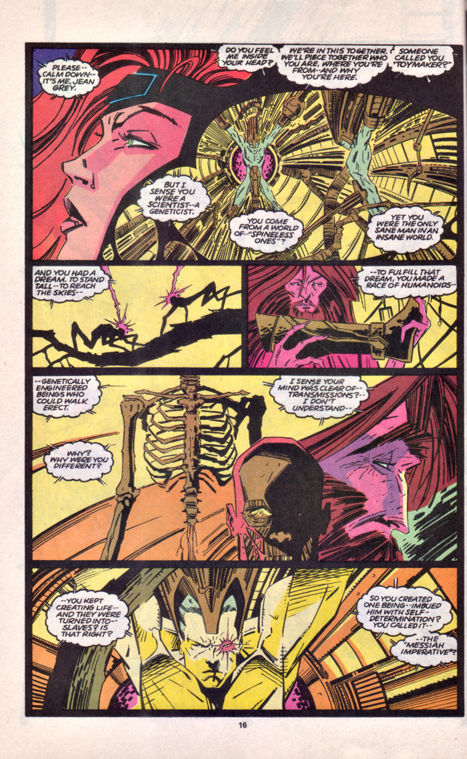 Read online Uncanny X-Men (1963) comic -  Issue # _Annual 16 - 14