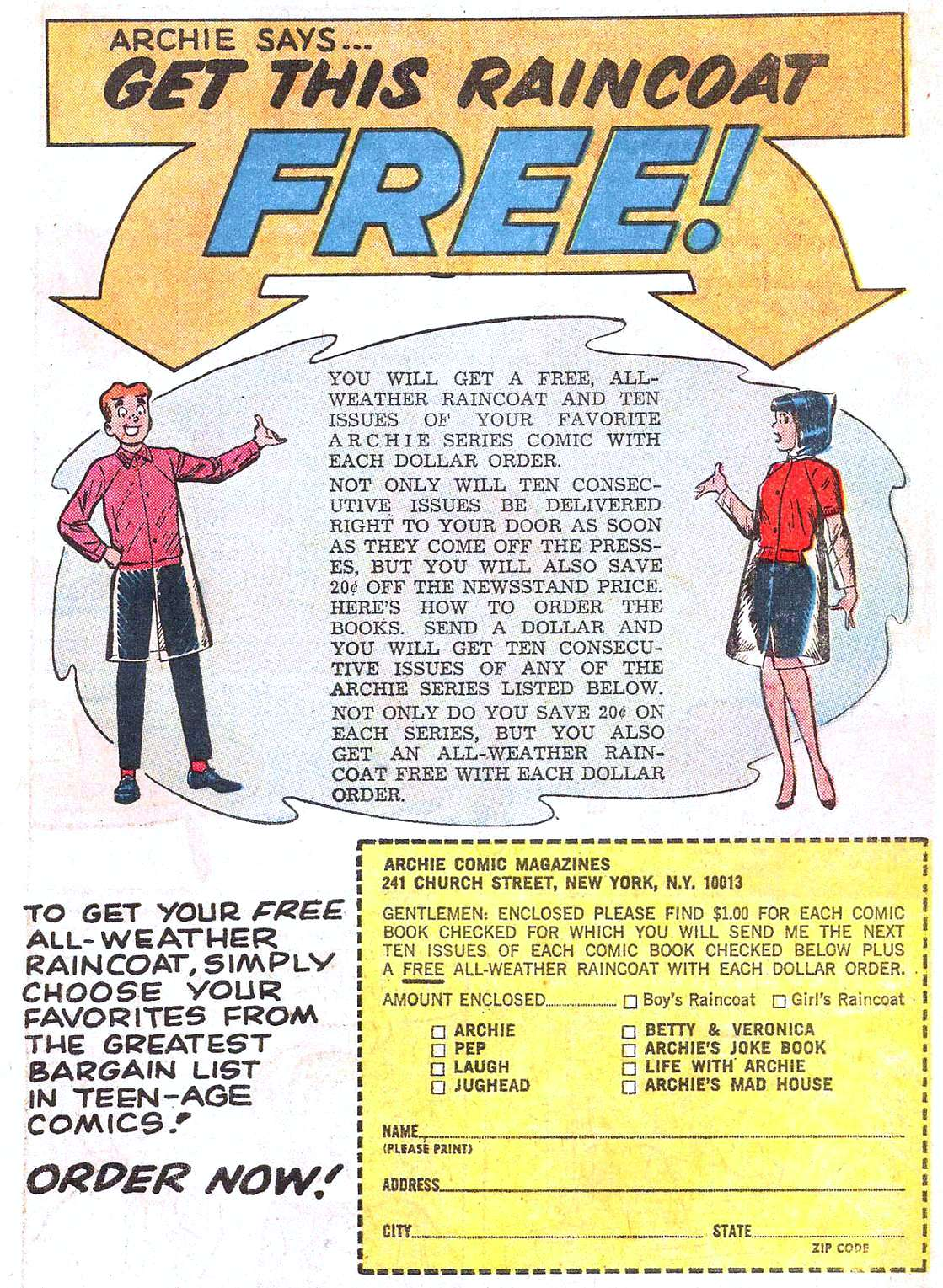 Read online Archie (1960) comic -  Issue #161 - 19