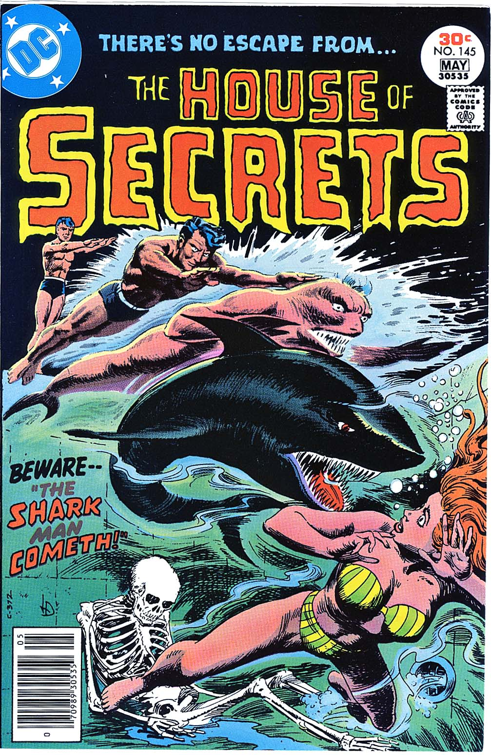 House of Secrets (1956) issue 145 - Page 1