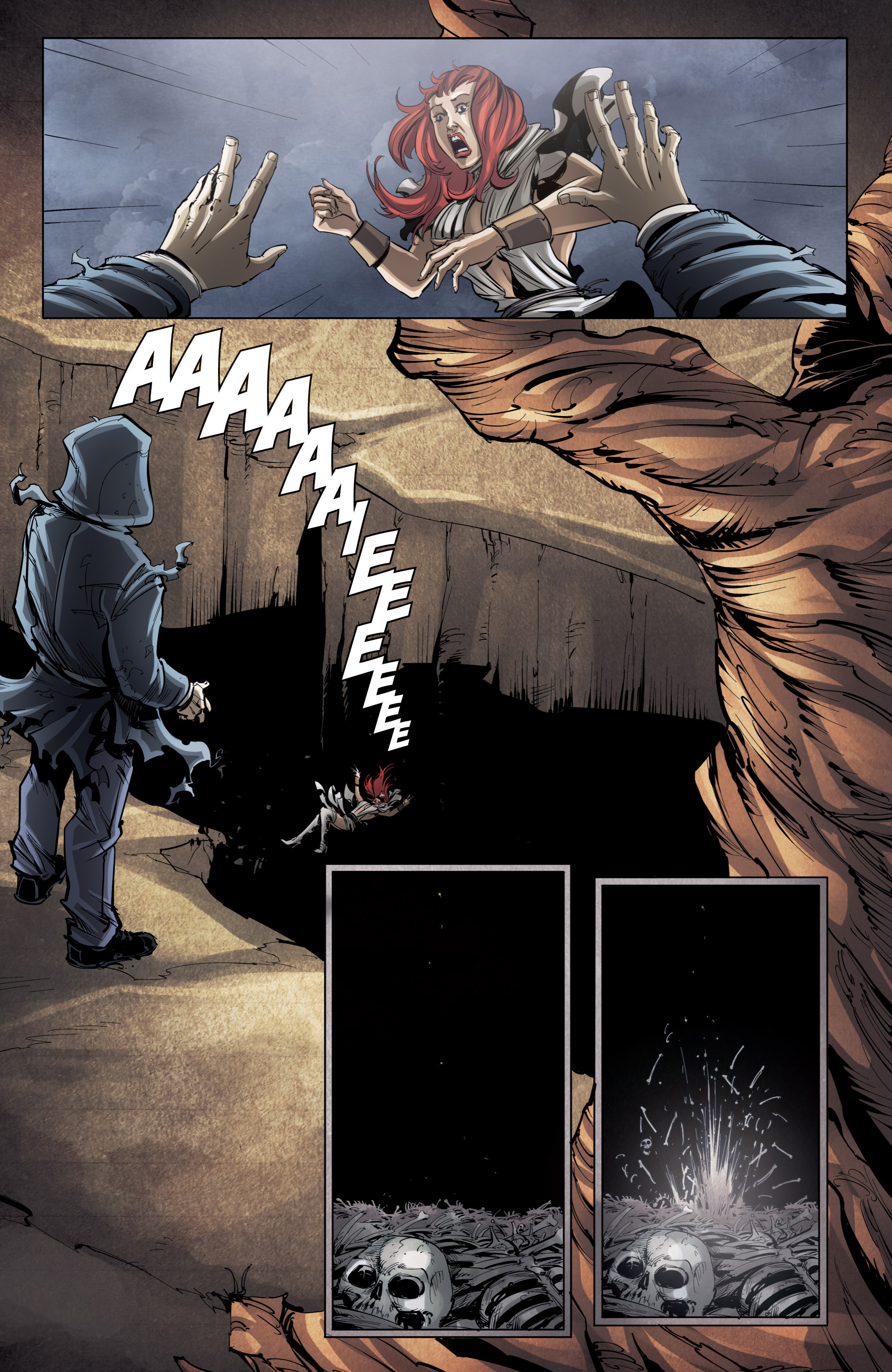 Read online Grimm Fairy Tales presents No Tomorrow comic -  Issue # TPB - 112