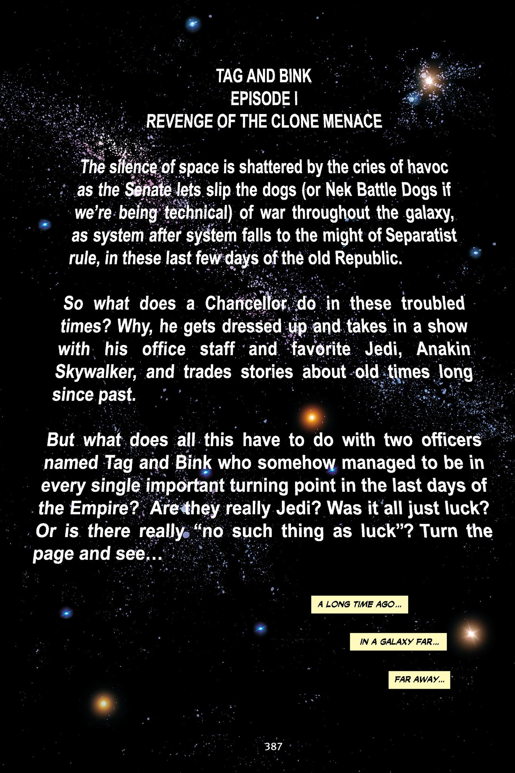Read online Star Wars Omnibus comic -  Issue # Vol. 30 - 378
