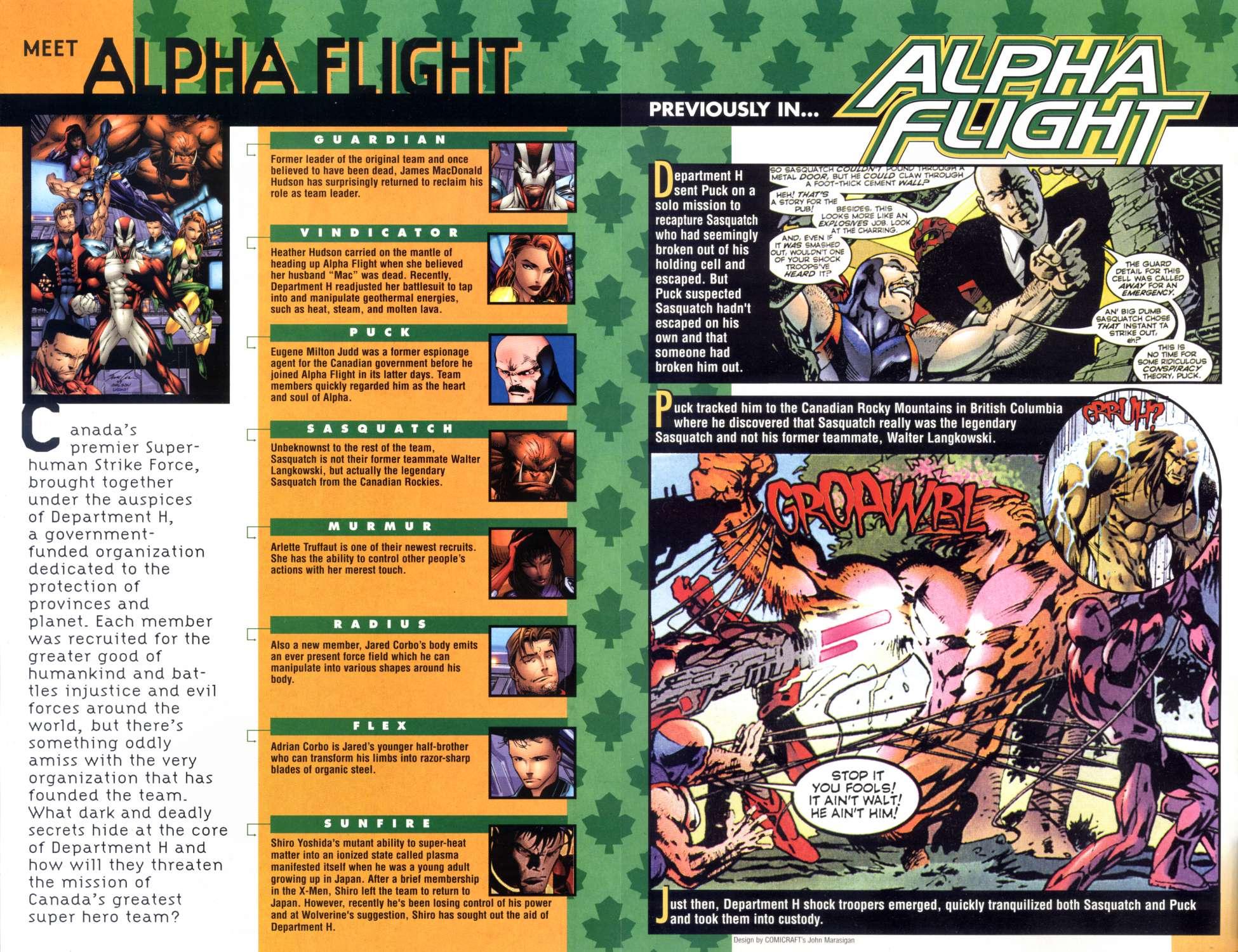 Read online Alpha Flight (1997) comic -  Issue #7 - 2