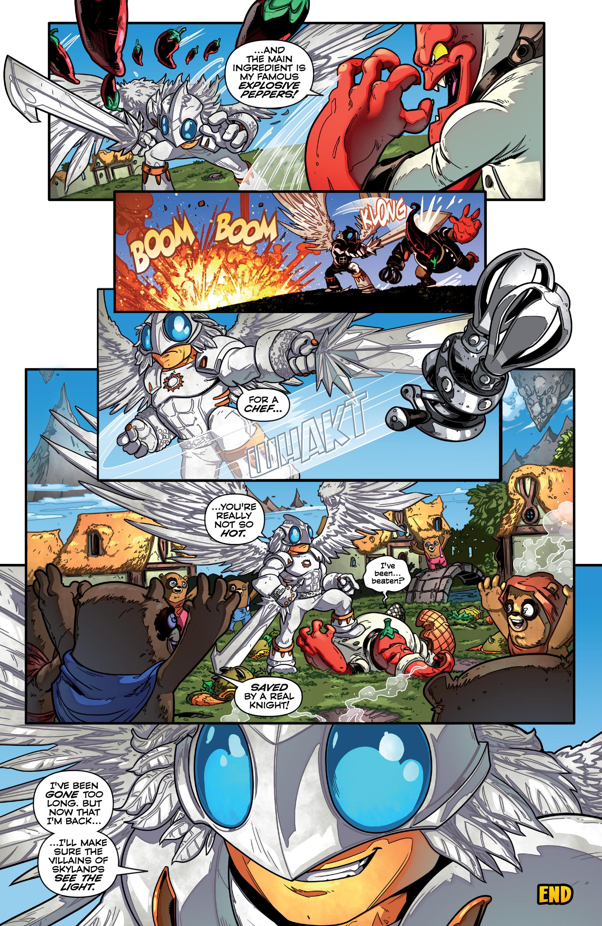 Read online Skylanders comic -  Issue #7 - 22