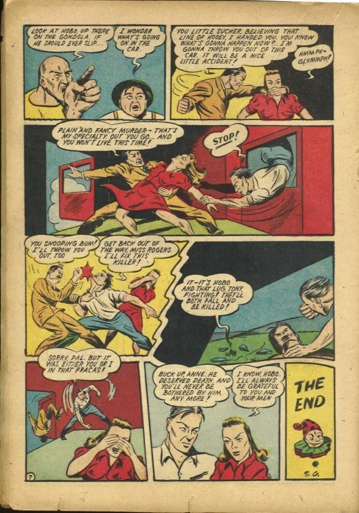 Read online Amazing Man Comics comic -  Issue #25 - 38