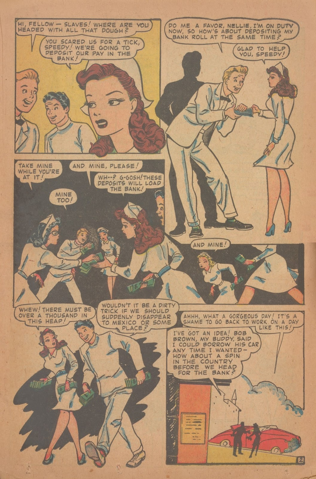 Read online Nellie The Nurse (1945) comic -  Issue #9 - 27