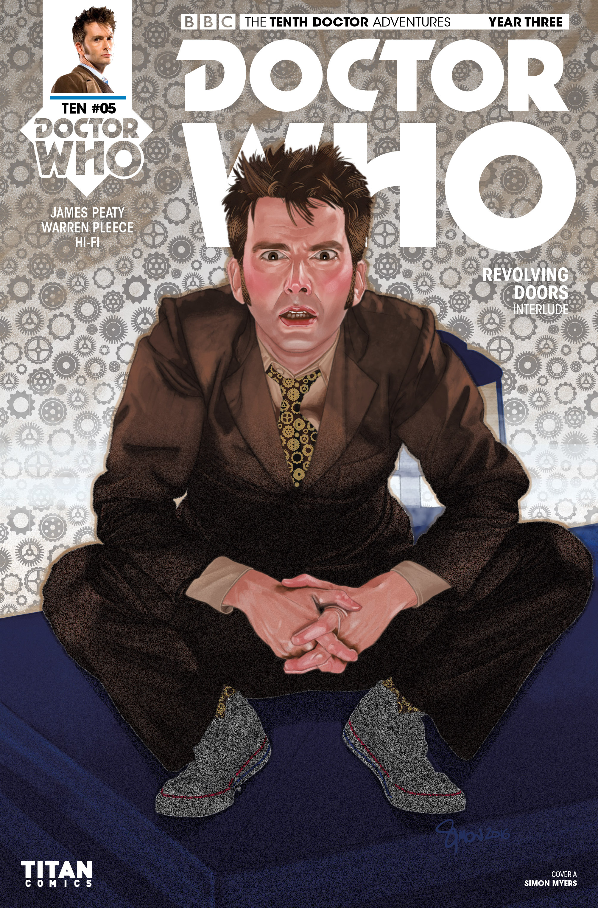 Read online Doctor Who: The Tenth Doctor Year Three comic -  Issue #5 - 1