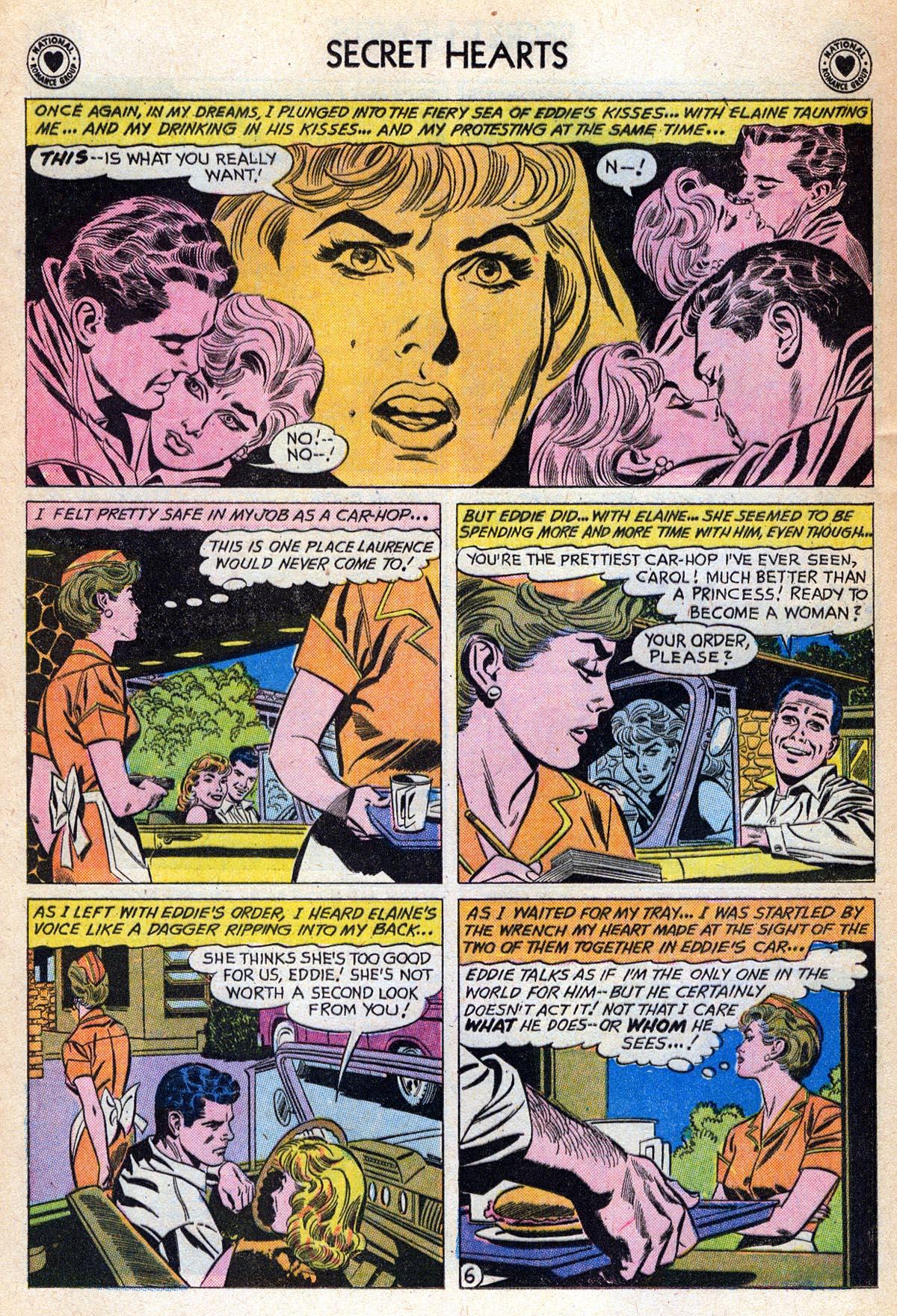 Read online Secret Hearts comic -  Issue #76 - 32