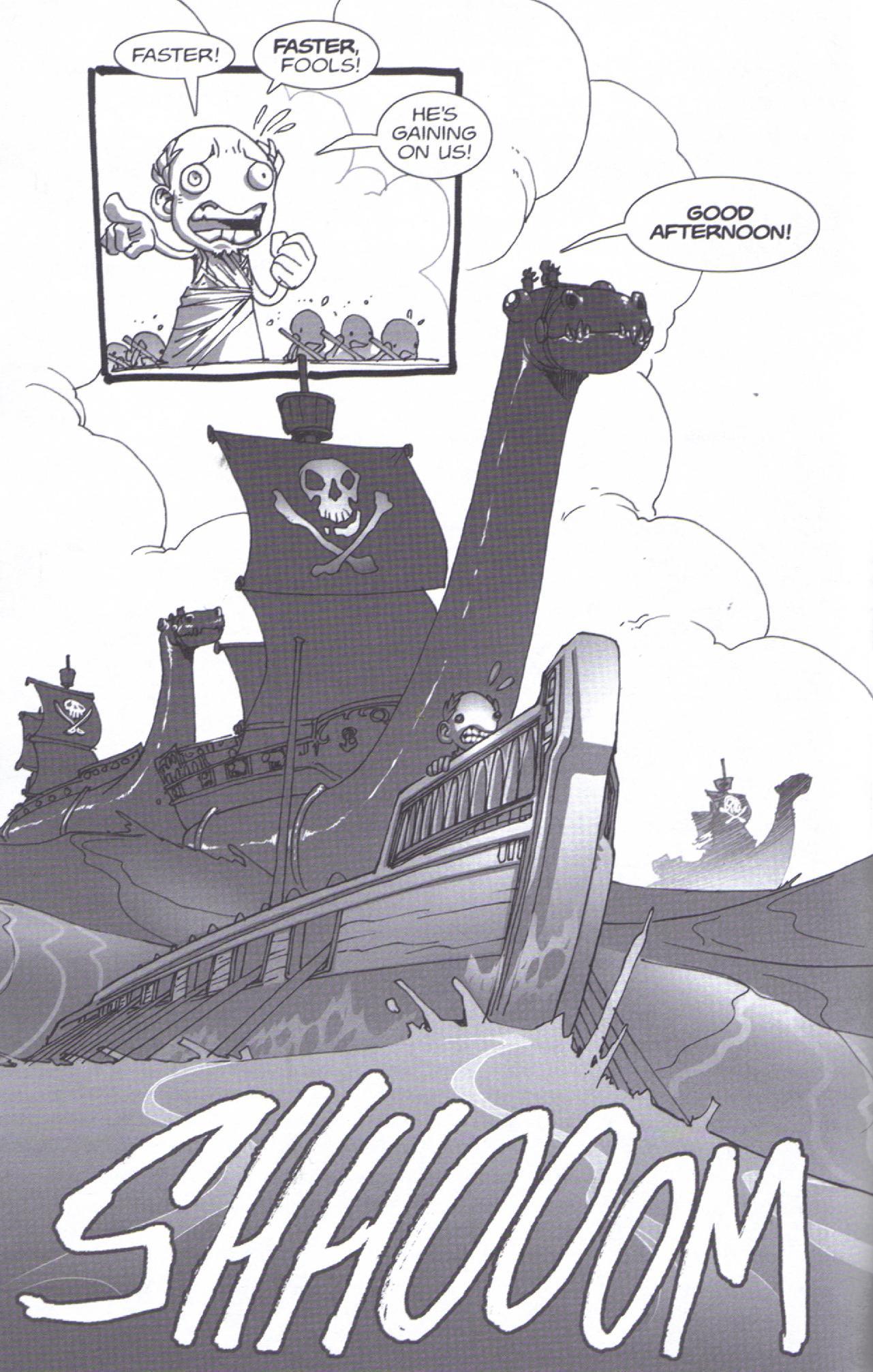 Read online Pirates vs. Ninjas: Global Harming comic -  Issue # Full - 10