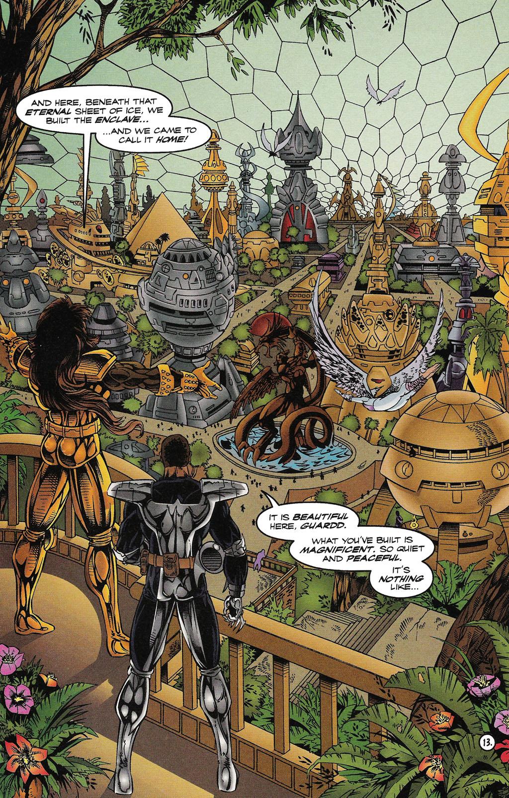 Read online ShadowHawk comic -  Issue #15 - 14