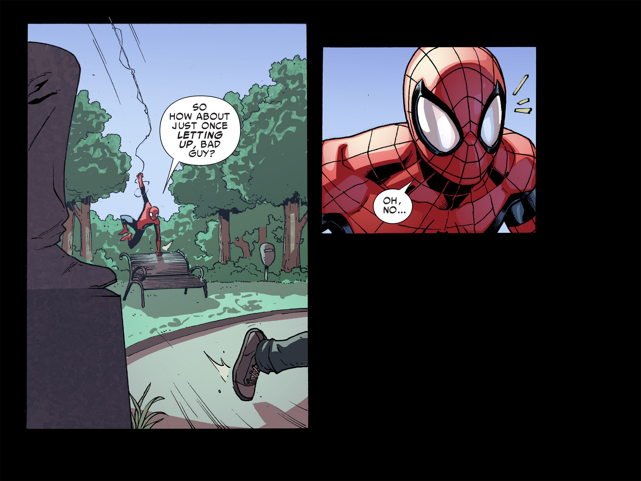 Read online Ultimate Spider-Man (Infinite Comics) (2016) comic -  Issue #8 - 7