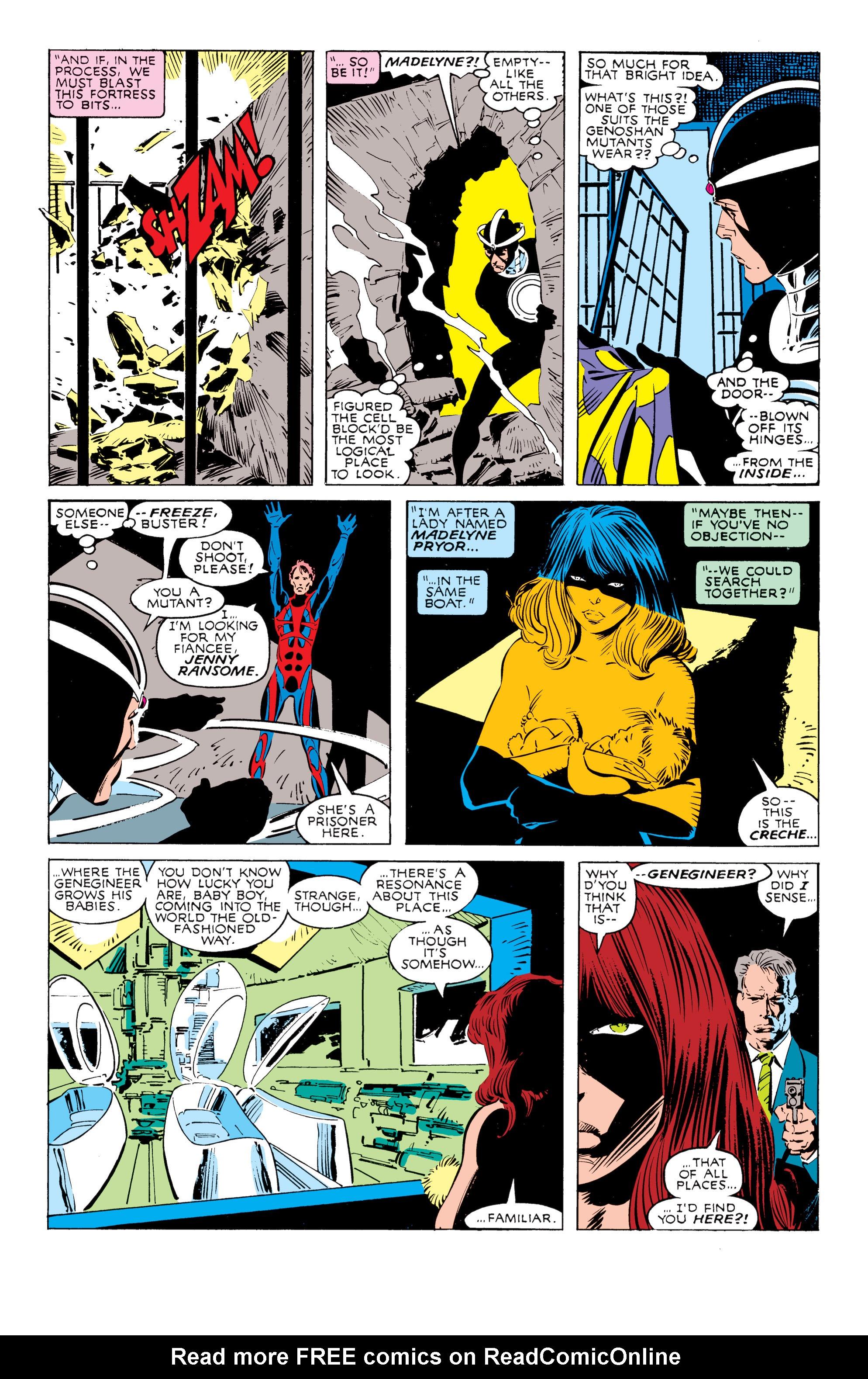 Read online Uncanny X-Men (1963) comic -  Issue #238 - 19