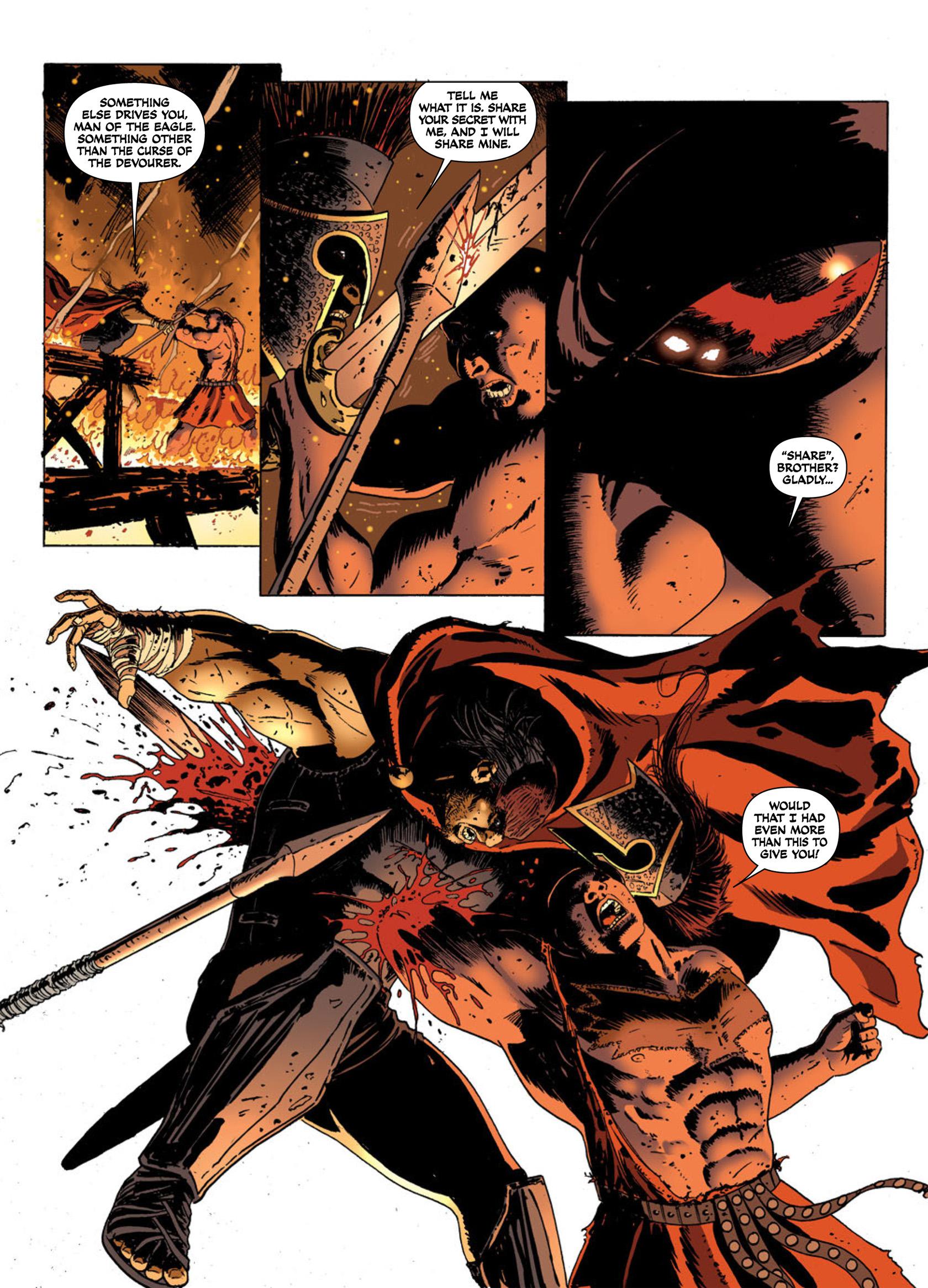 Read online Aquila comic -  Issue #2 - 16