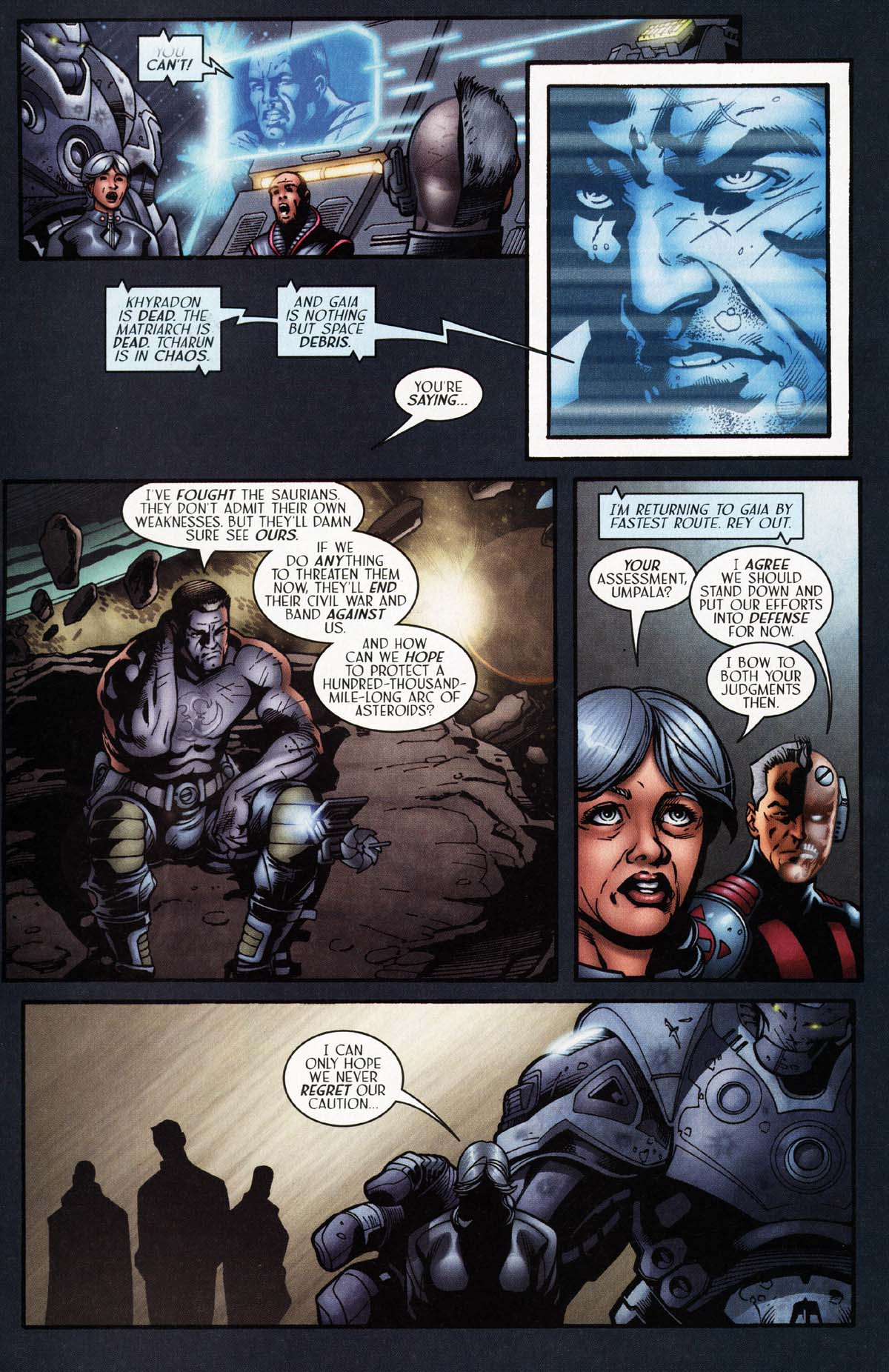 Read online Sigil (2000) comic -  Issue #29 - 15