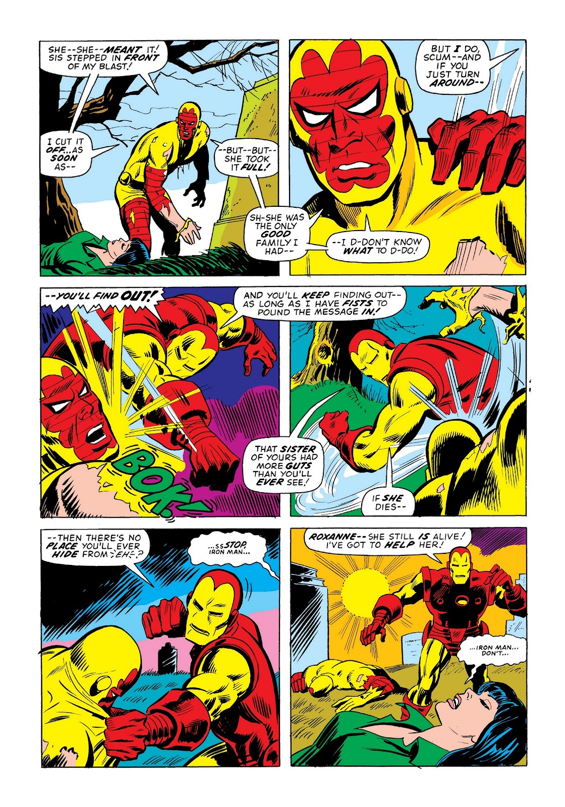 Read online Marvel Masterworks: The Invincible Iron Man comic -  Issue # TPB 9 (Part 2) - 31