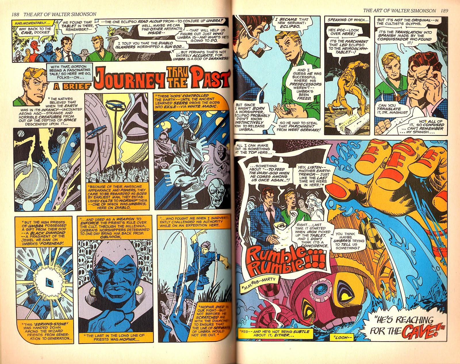 Read online The Art of Walter Simonson comic -  Issue # TPB - 96