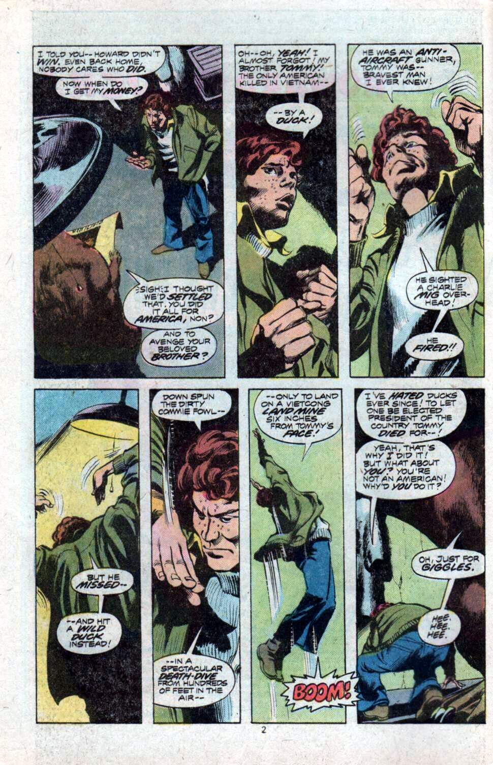 Howard the Duck (1976) Issue #9 #10 - English 3