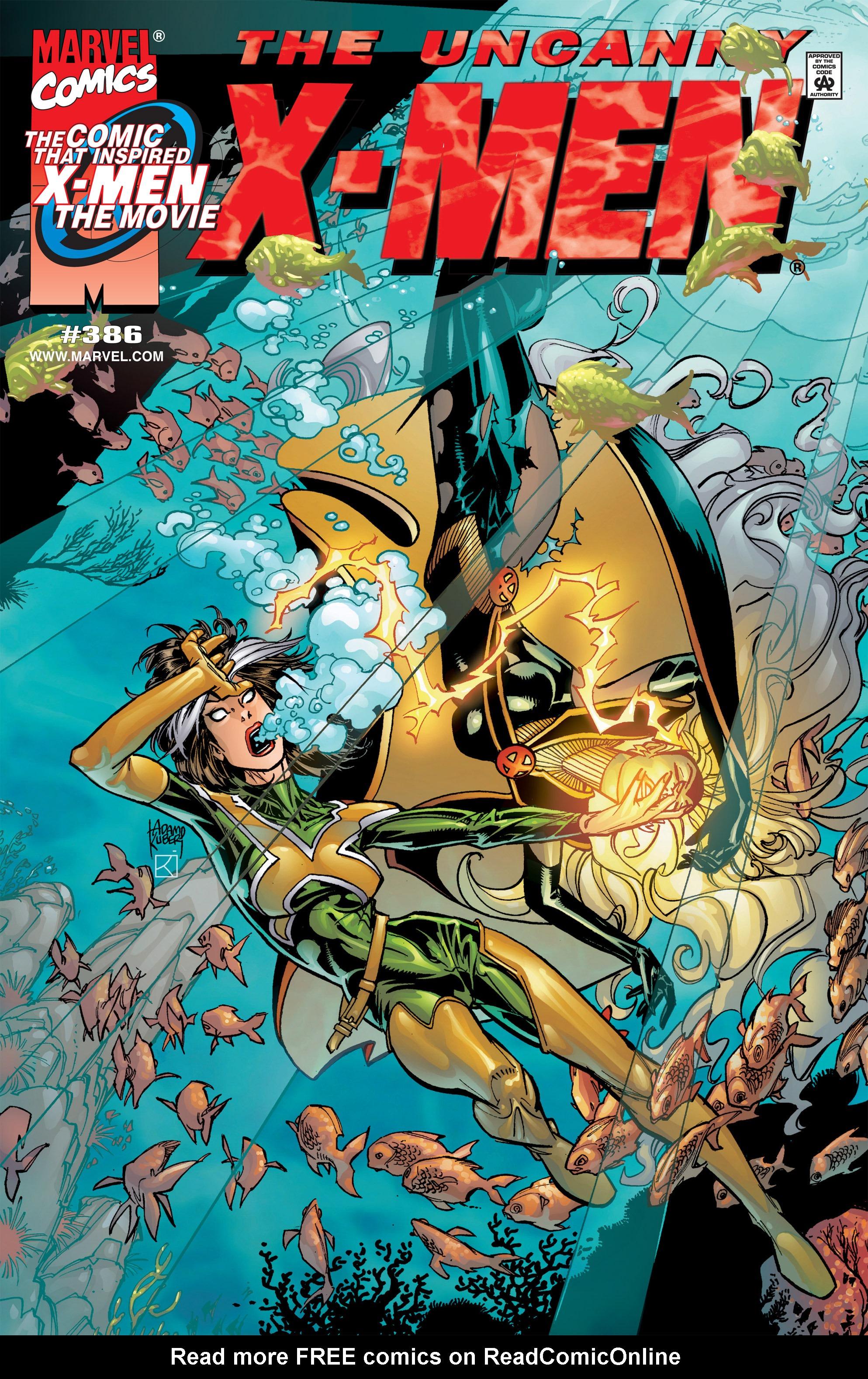 Uncanny X-Men (1963) 386 Page 1