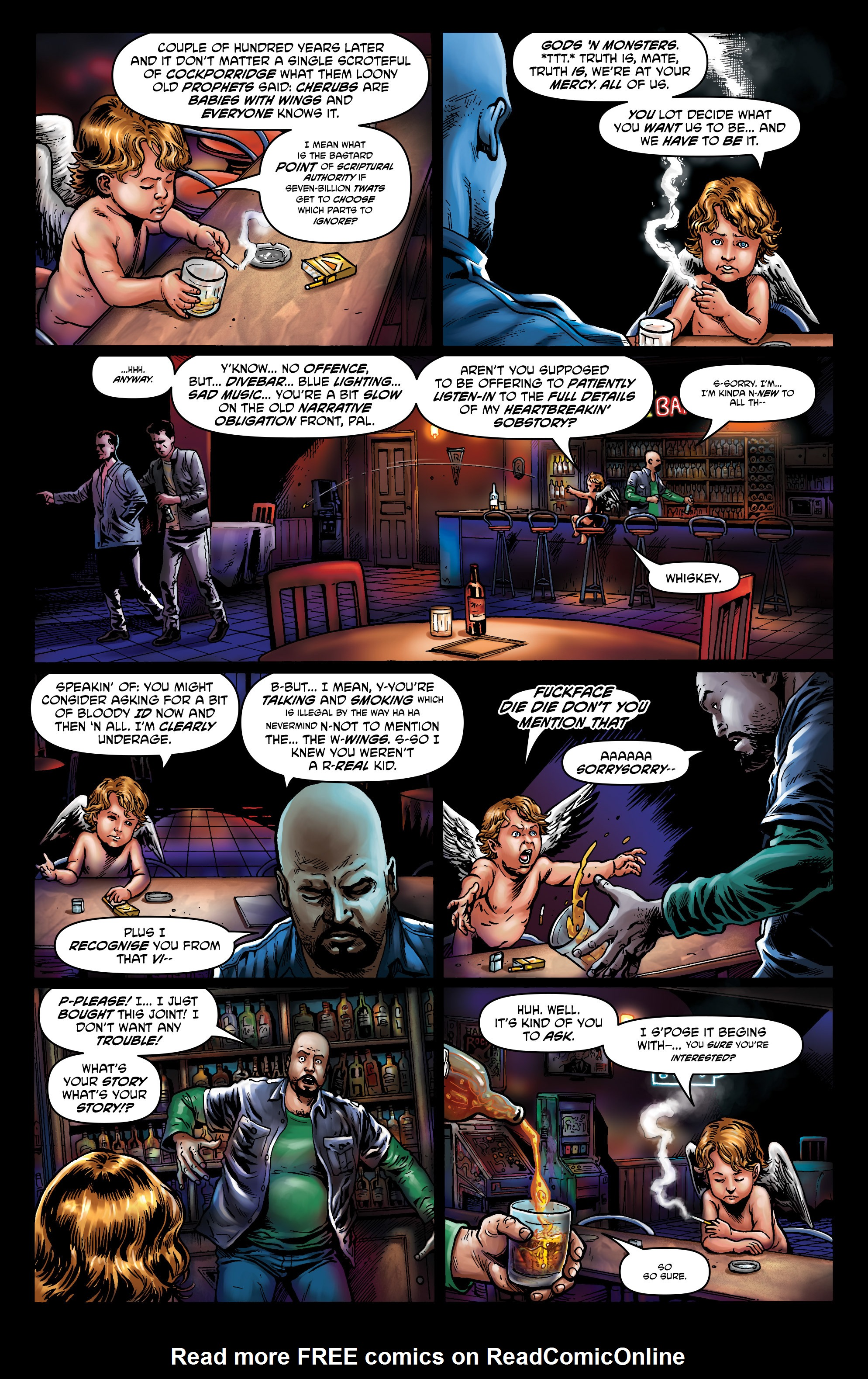 Read online God is Dead: Book of Acts comic -  Issue # Alpha - 39