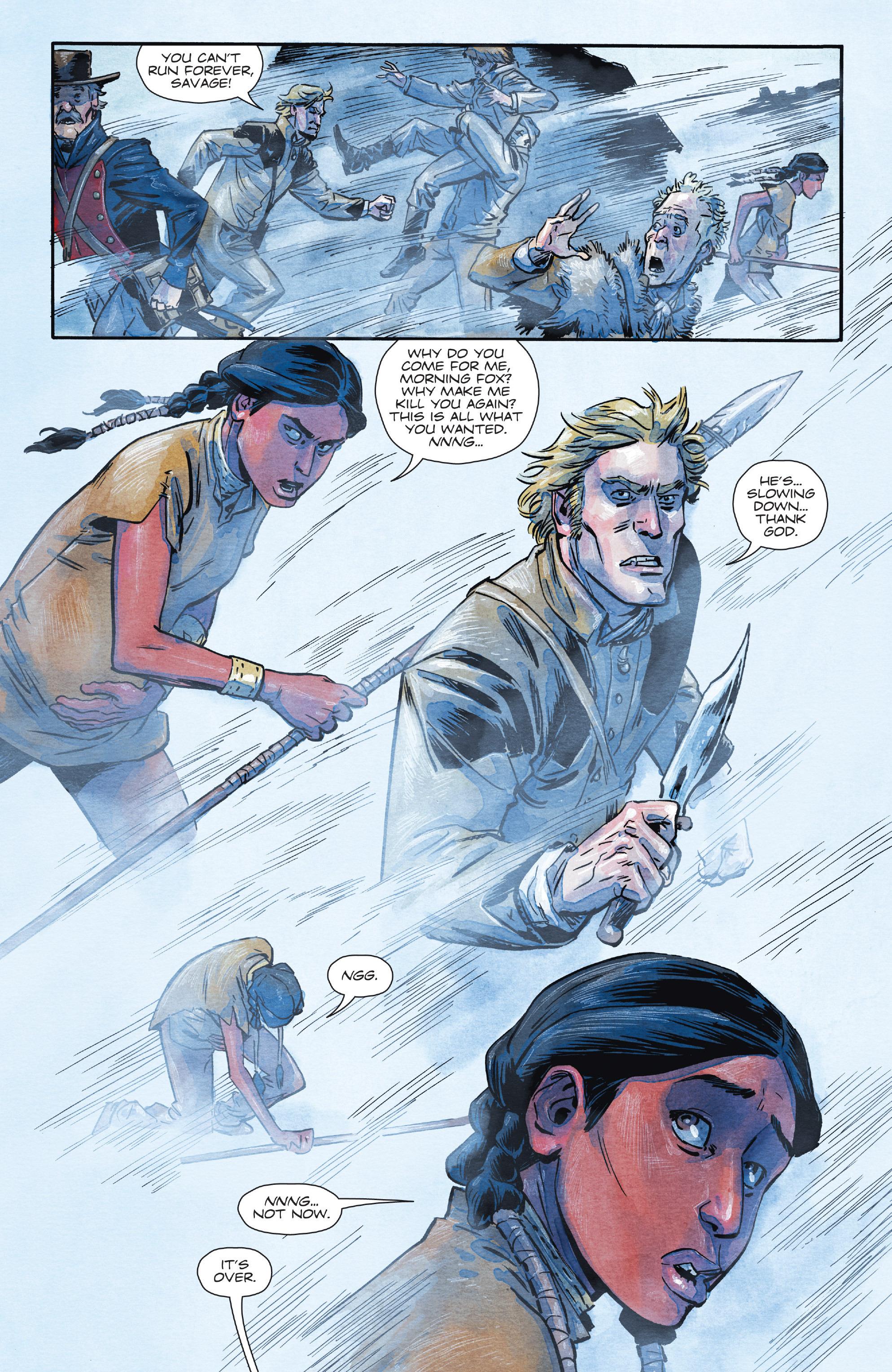 Read online Manifest Destiny comic -  Issue #28 - 16