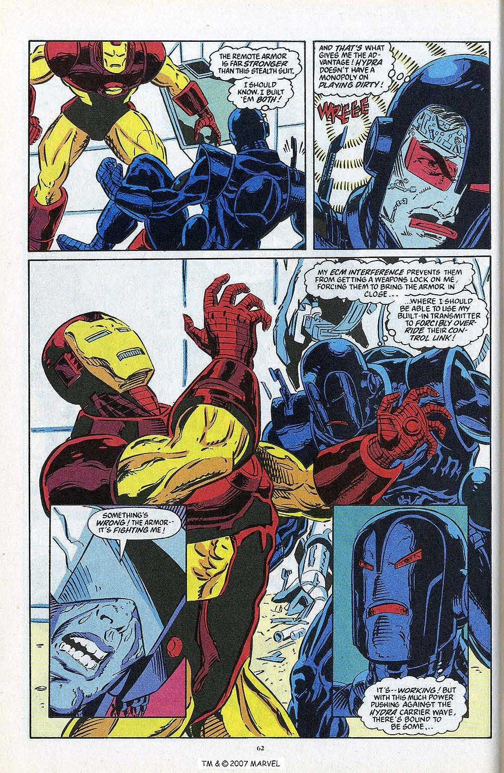 Iron Man Annual issue 13 - Page 64