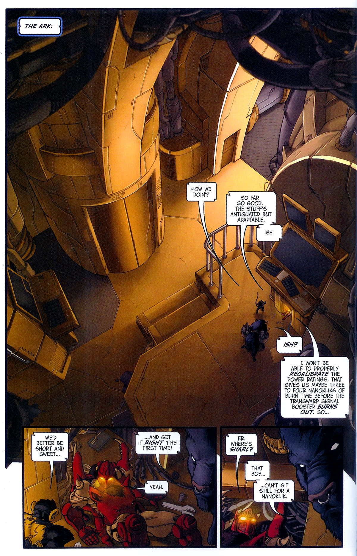 Read online Transformers, Beast Wars: The Gathering comic -  Issue #3 - 15