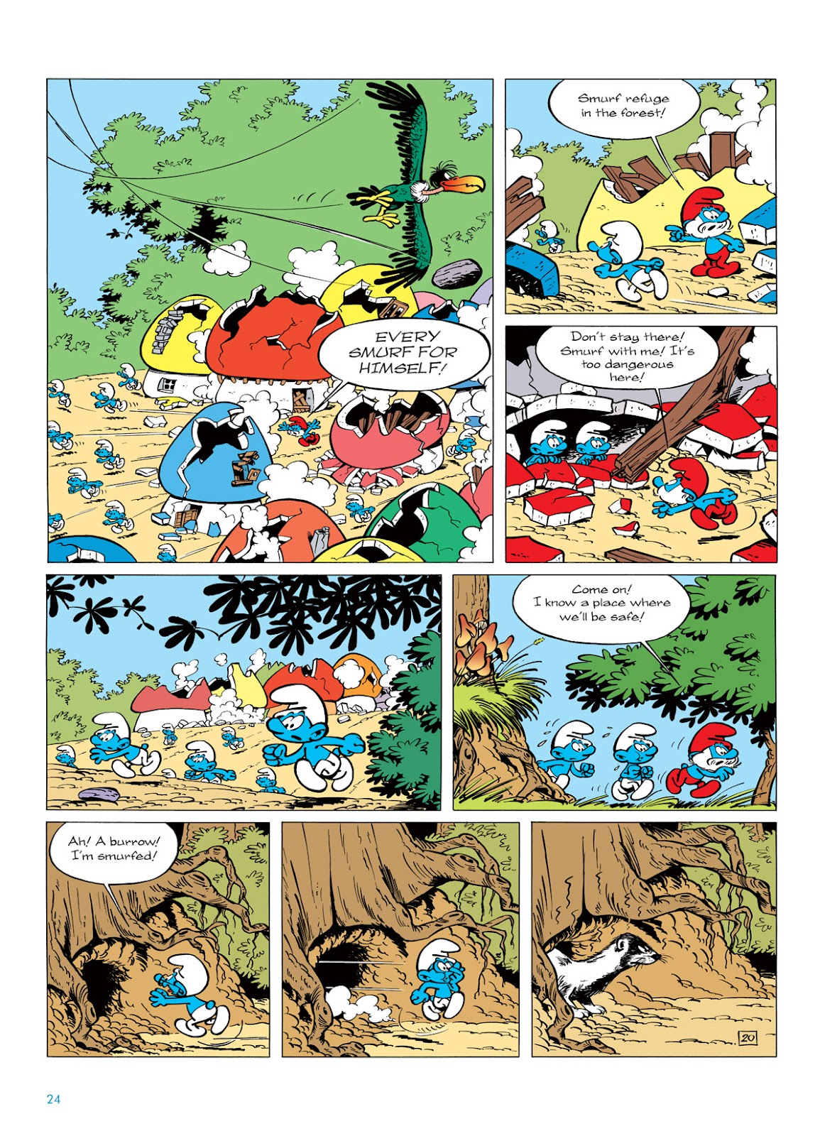 Read online The Smurfs comic -  Issue #6 - 24