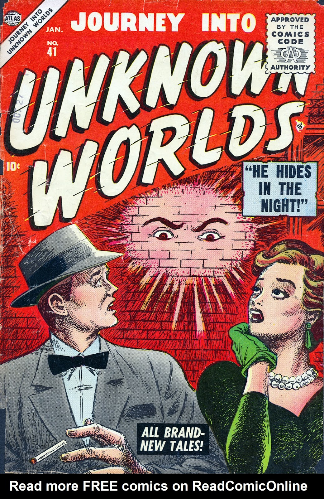 Journey Into Unknown Worlds (1950) issue 41 - Page 1
