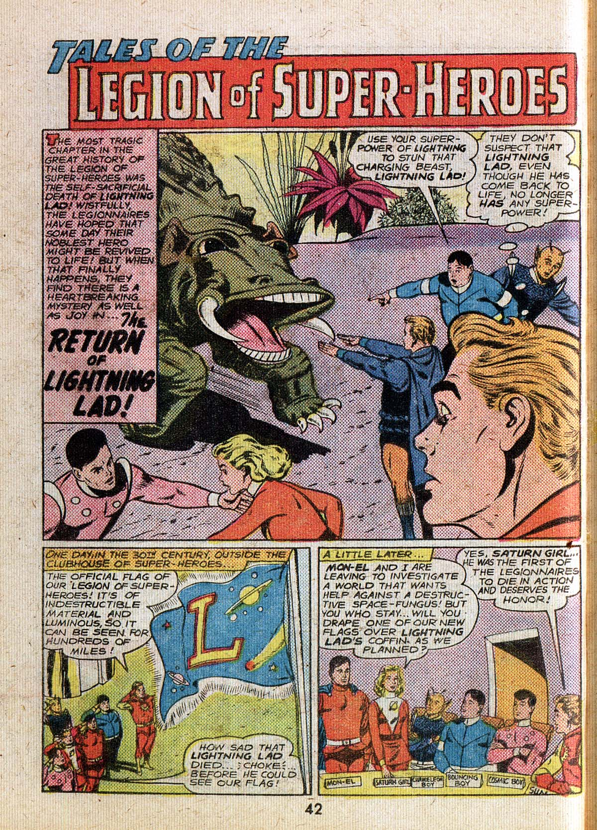 Read online Adventure Comics (1938) comic -  Issue #500 - 42